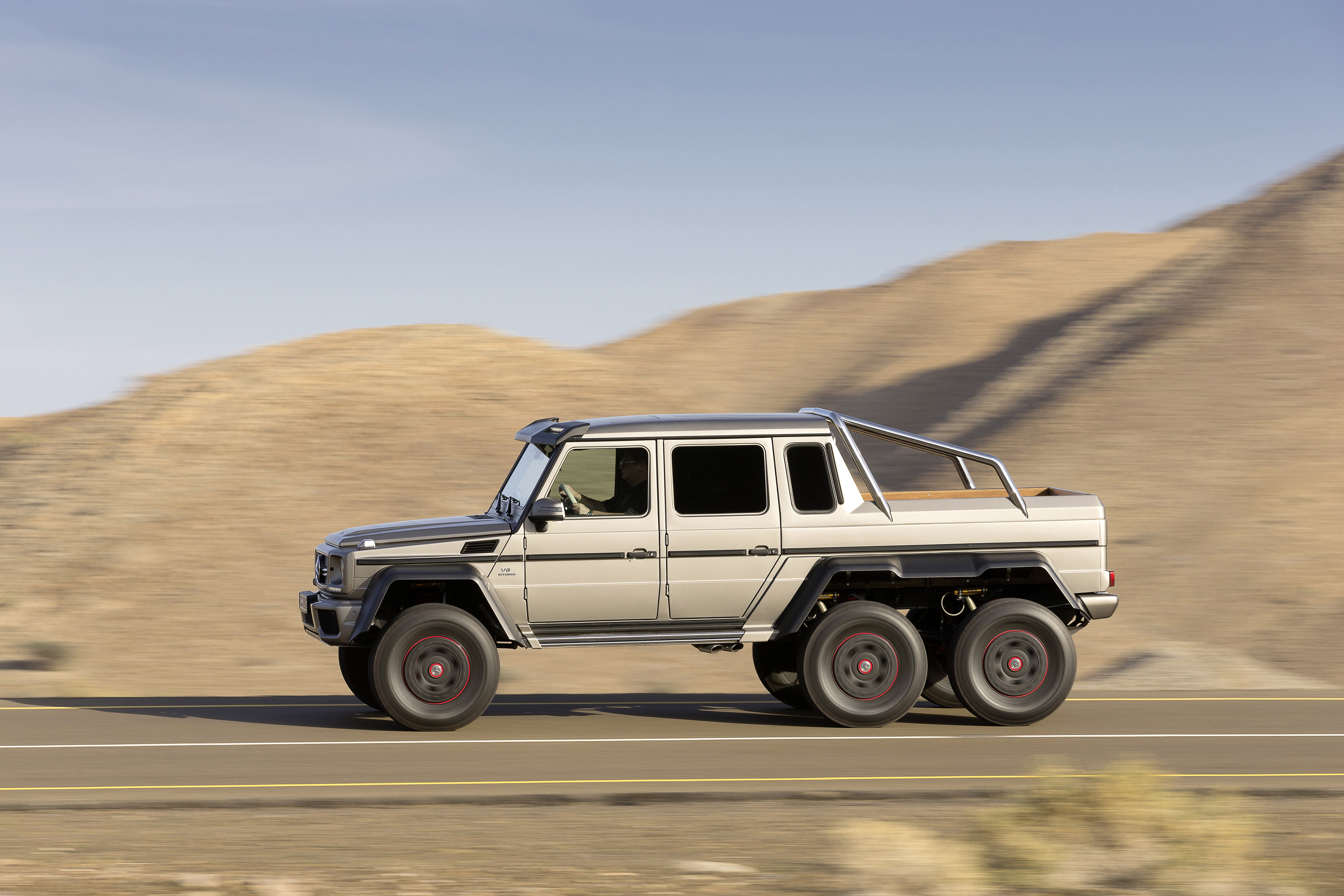 Mercedes Benz G 63 AMG 6x6 Near Series Show Vehicle
