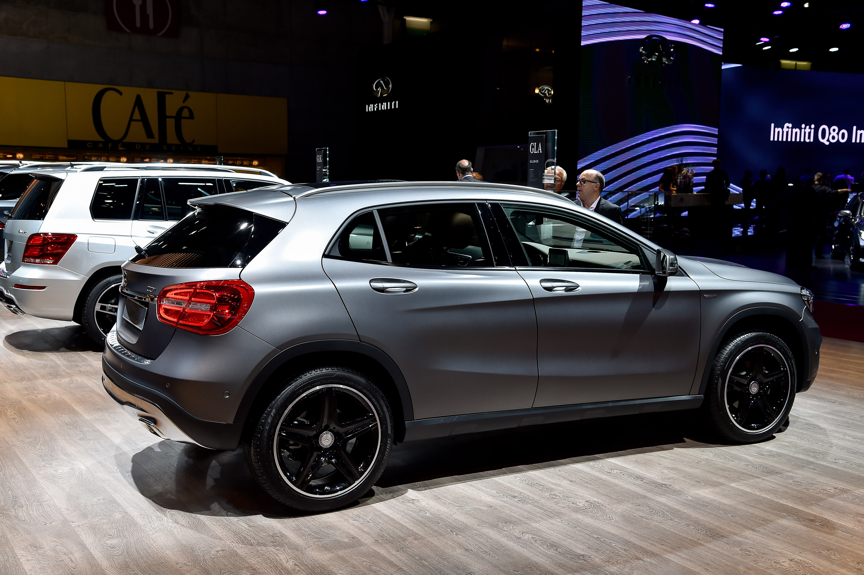 Gemballa says goodbye to mirage gt for Mercedes benz gla class review