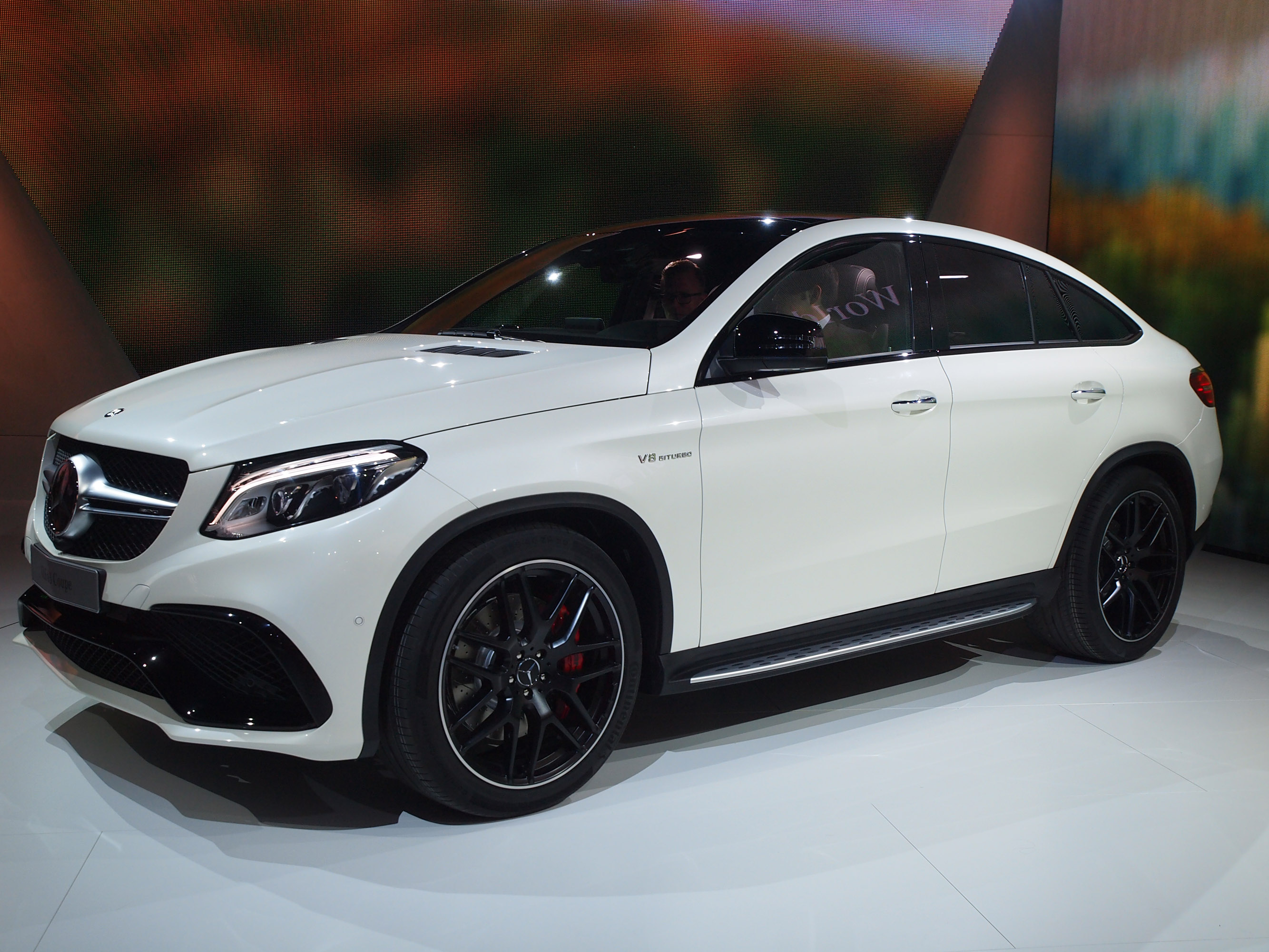 Mercedes Benz Gle 63 Coupe Detroit 2015 Picture 116098