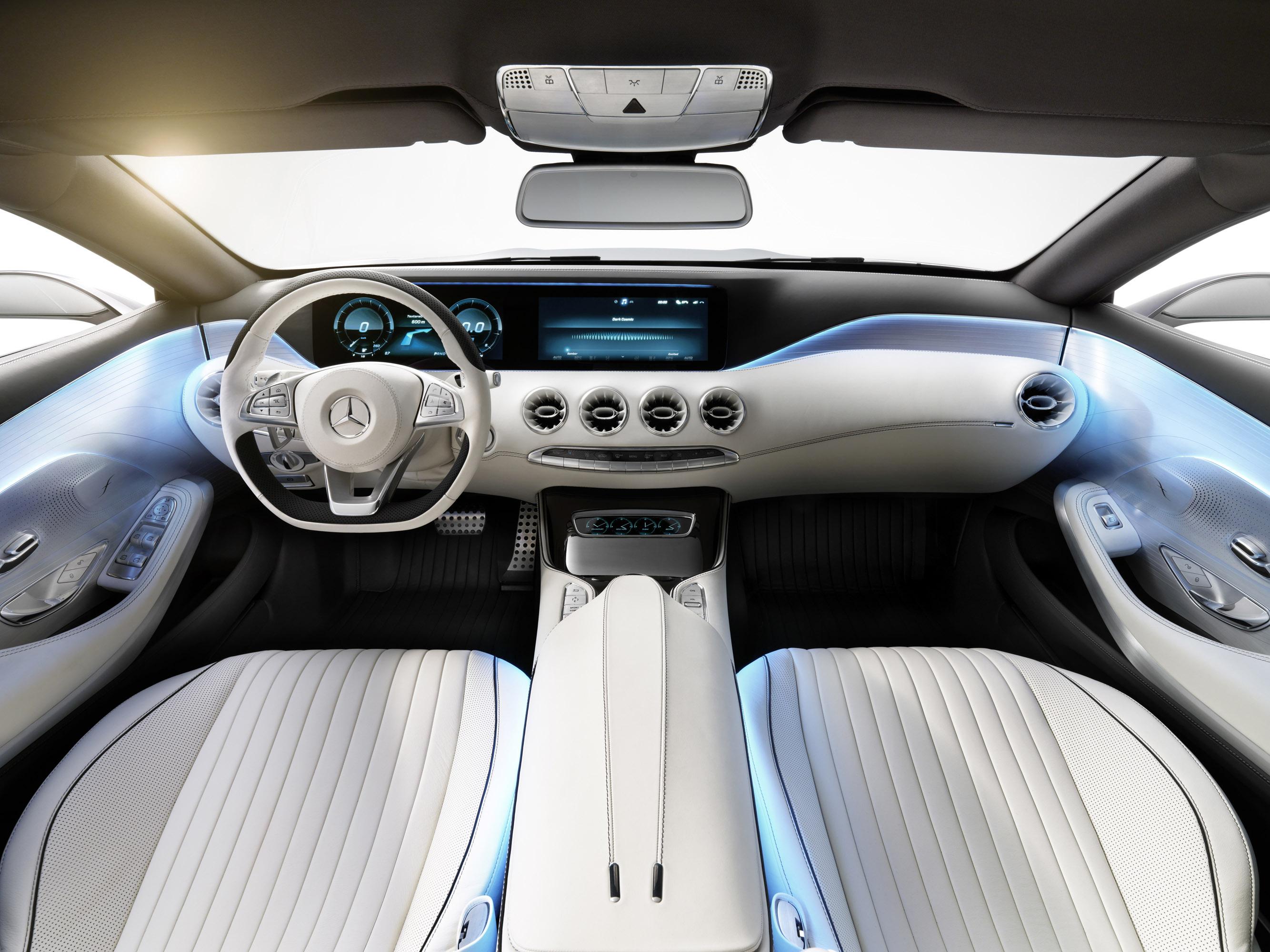 mercedes benz s class coupe concept - Mercedes Benz 2014 S Class Interior