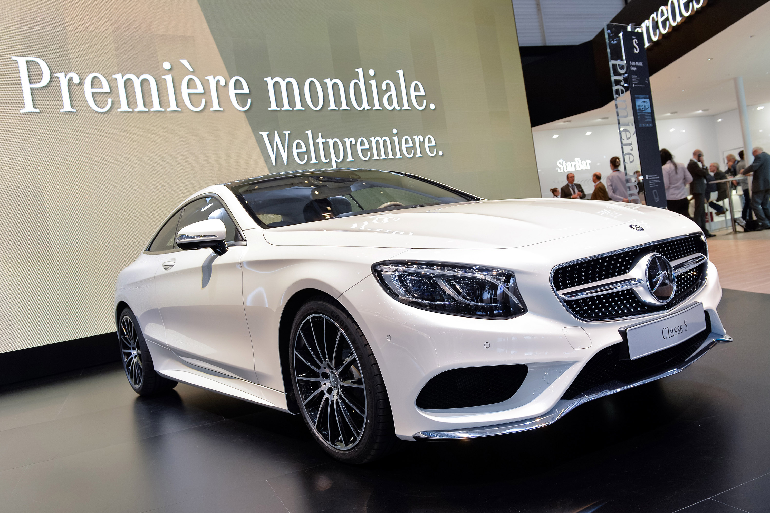 Mercedes benz s class coupe geneva 2014 picture 99391 for Mercedes benz s class coupe 2014