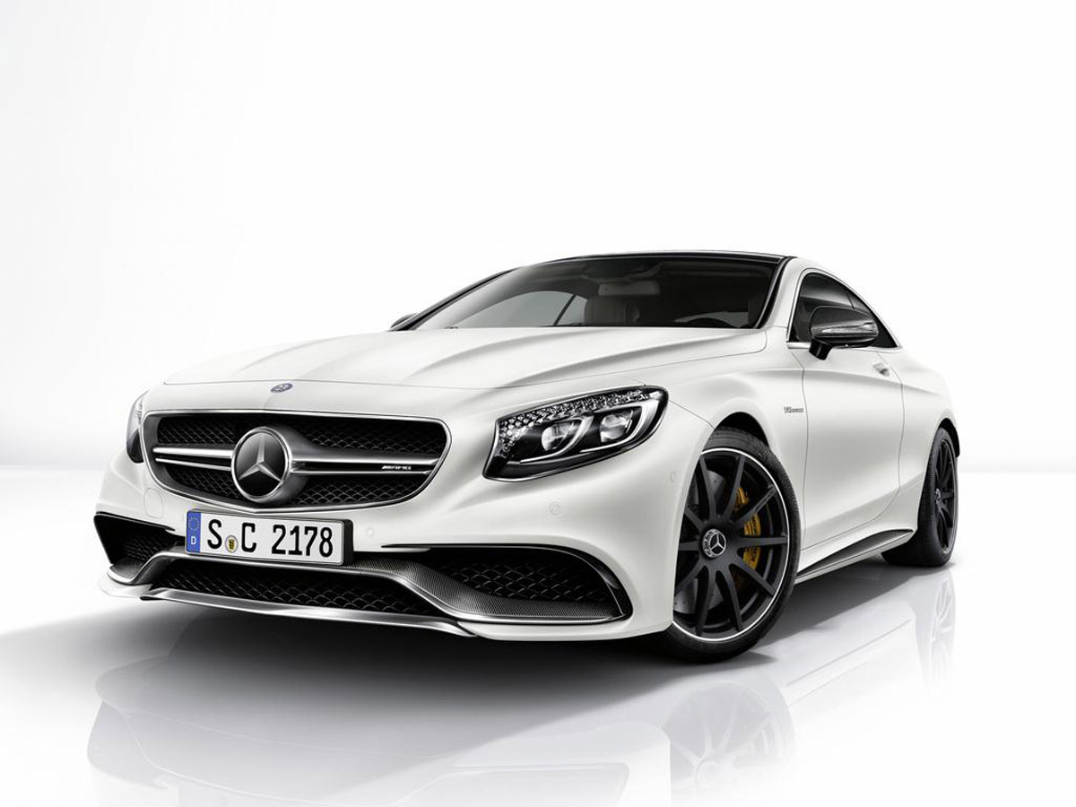 Mercedes benz s63 amg coupe night and carbon packages for Mercedes benz packages