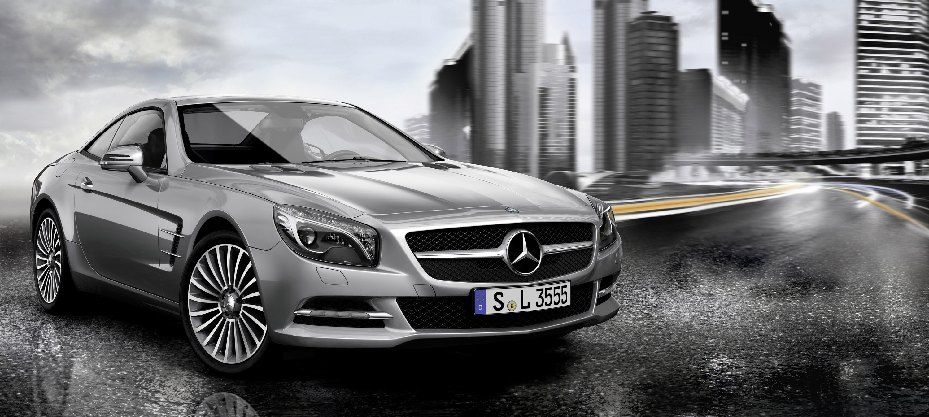 Original accessories for the mercedes benz sl for Mercedes benz accessories