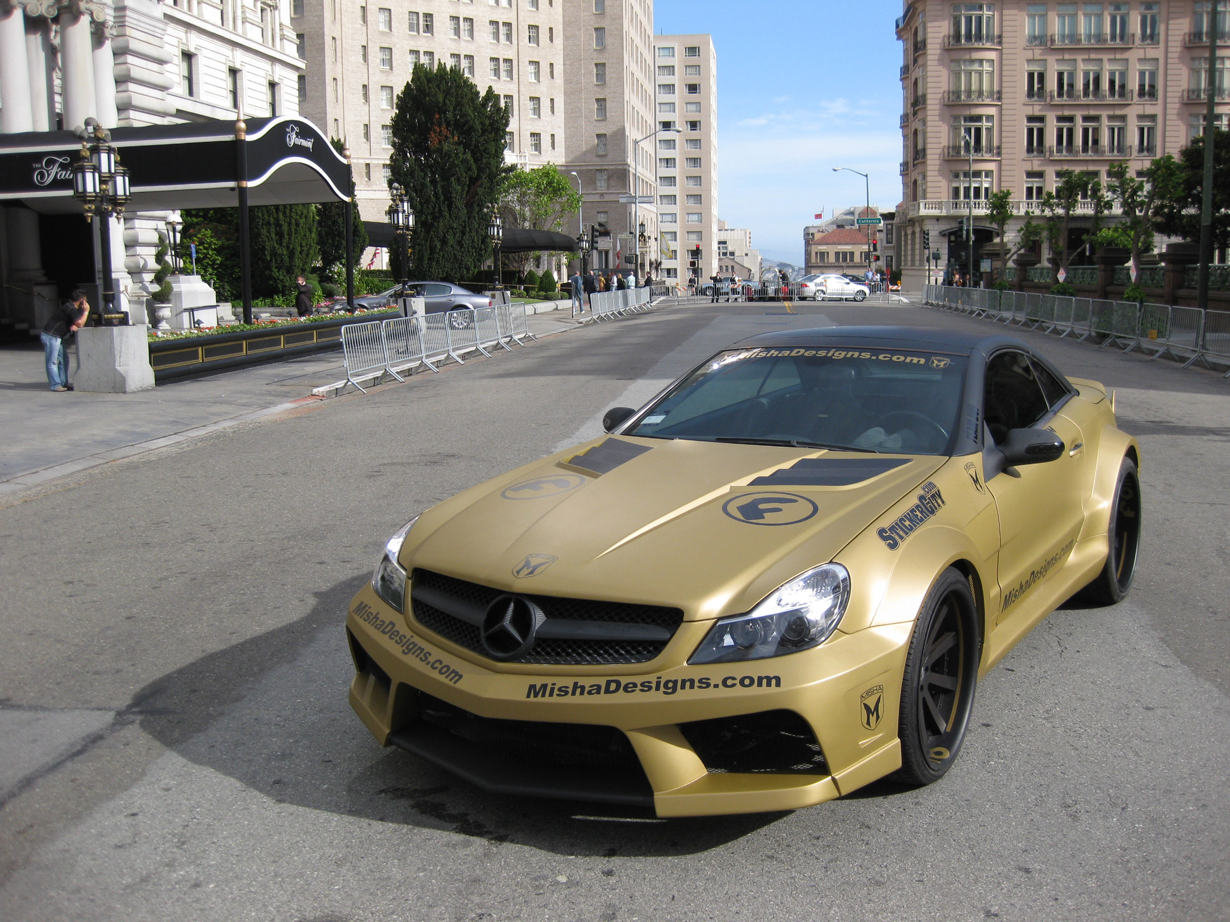 Mercedes benz sl widebody kit by misha for Mercedes benz auto body