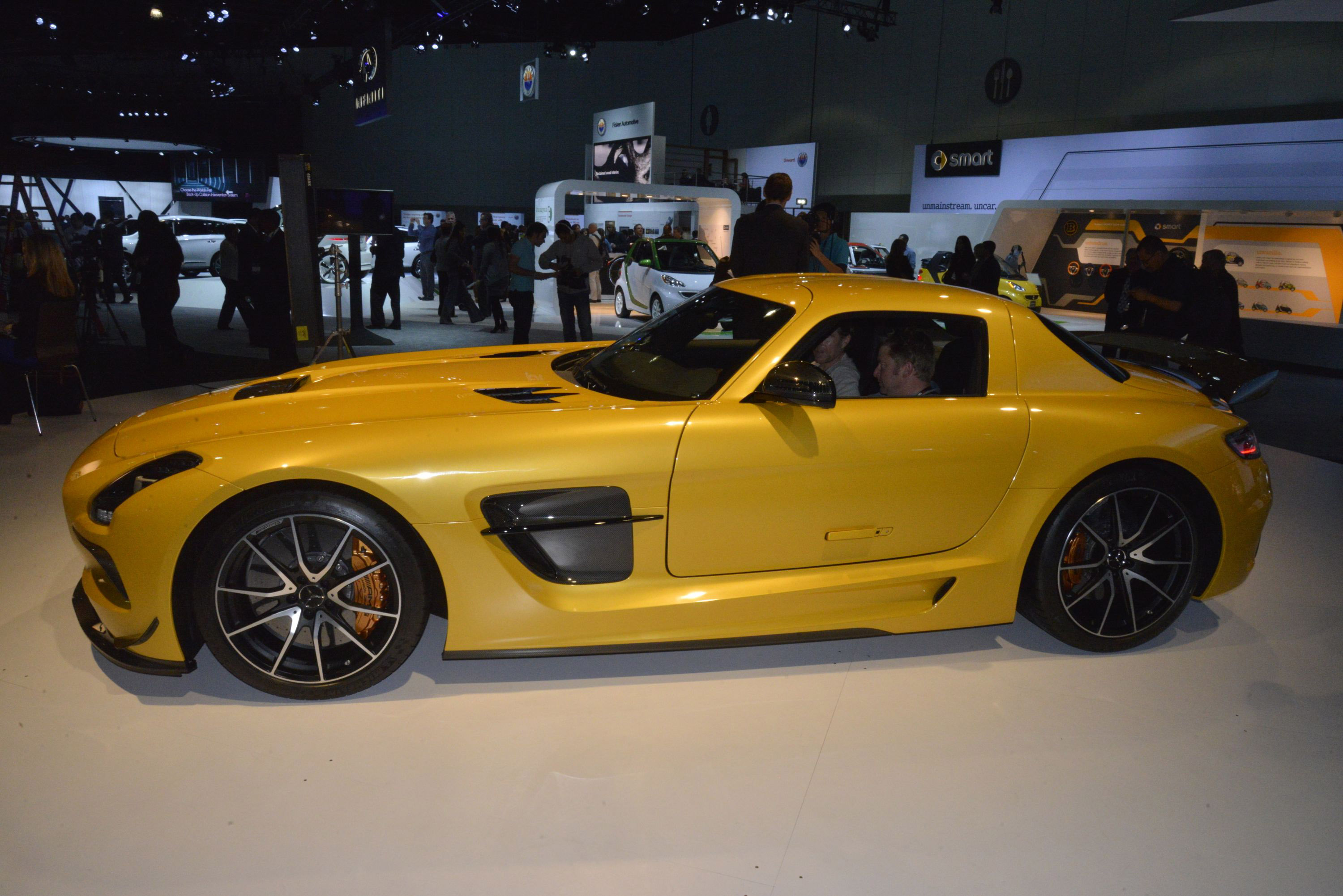 Mercedes Benz SLS AMG Coupe Black Series Los Angeles 2012