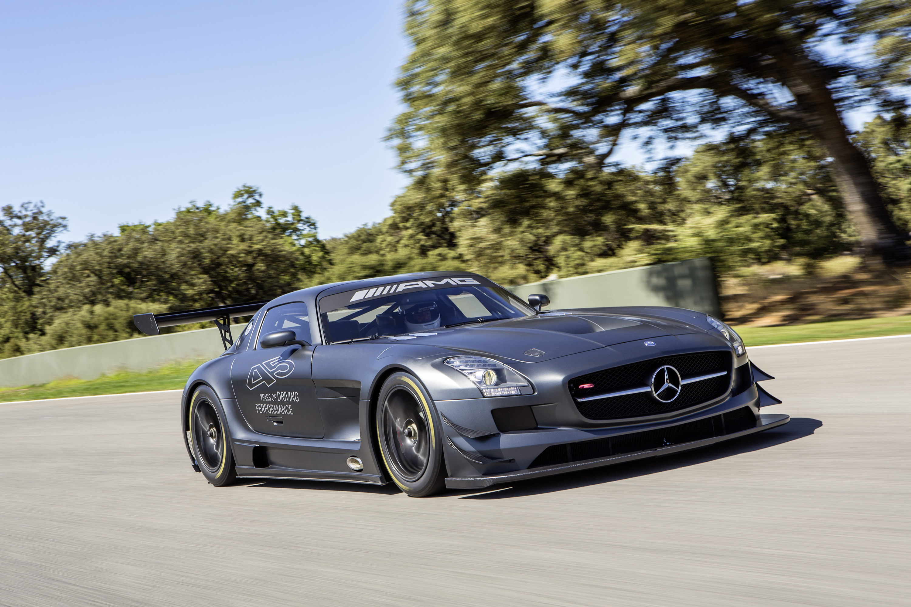 Mercedes benz sls amg gt3 45th anniversary price 446 250 for Price of mercedes benz amg