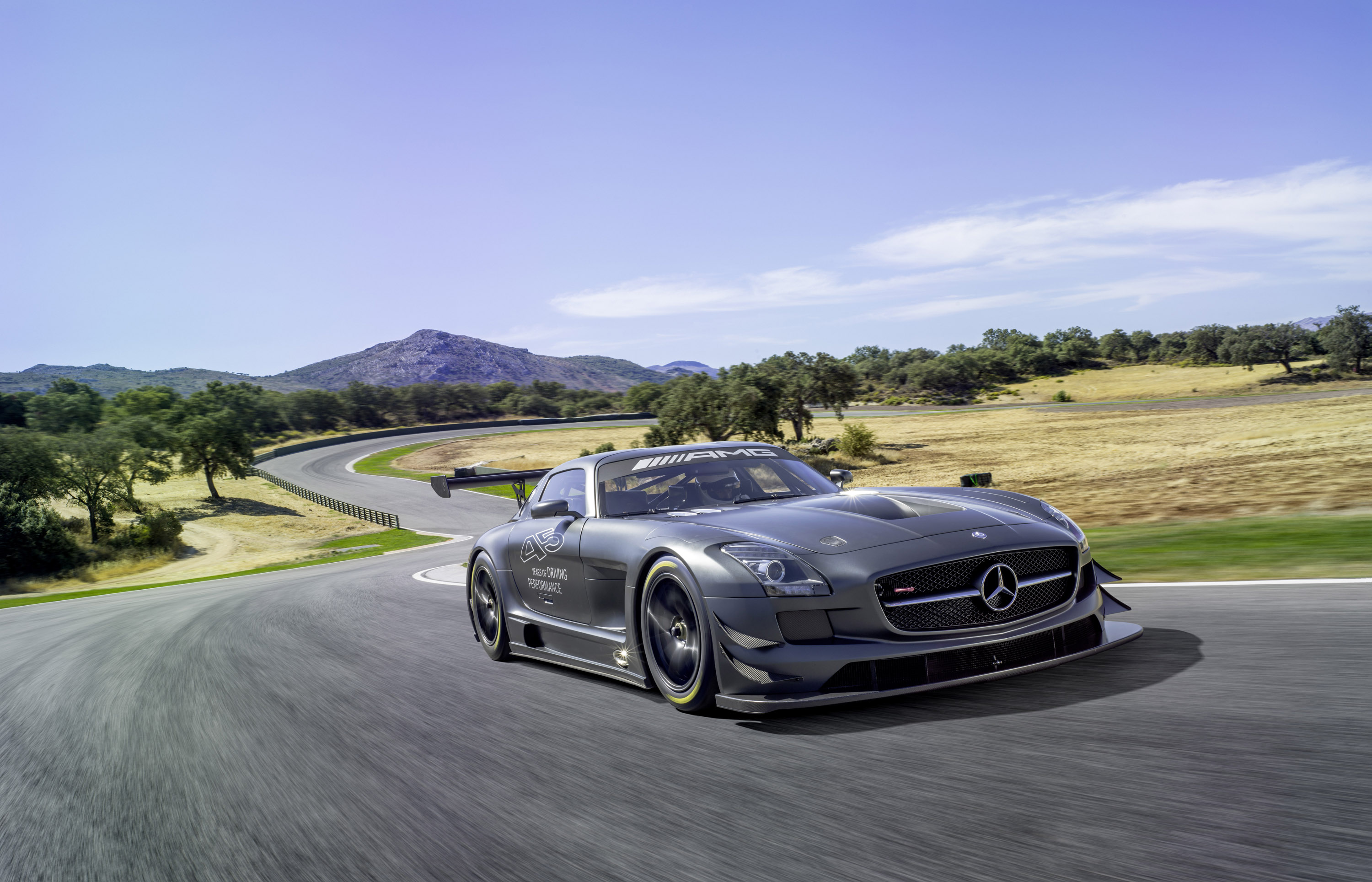 Mercedes benz sls amg gt3 45th anniversary price 446 250 for Mercedes benz sls price