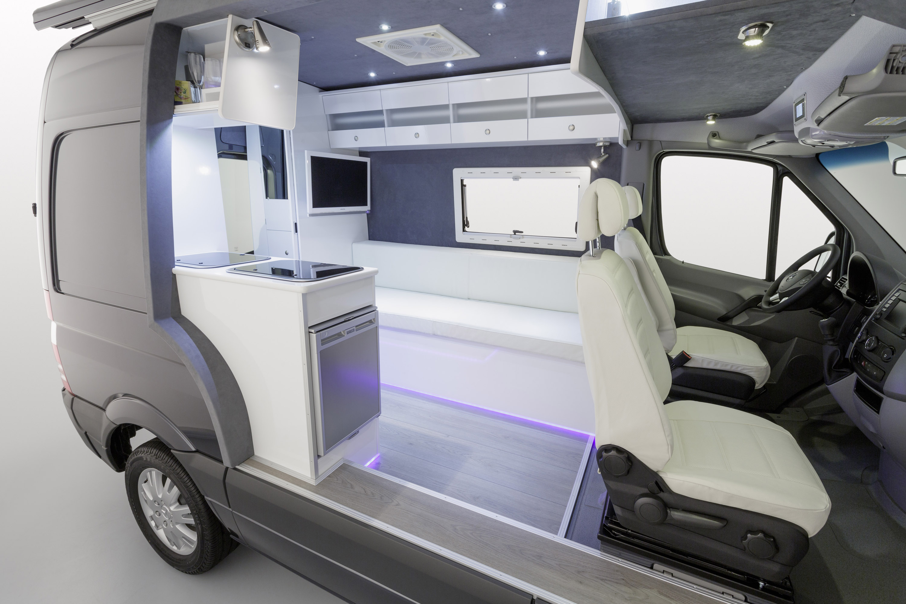 Mercedes Benz Sprinter Caravan Concept Safer Cleaner