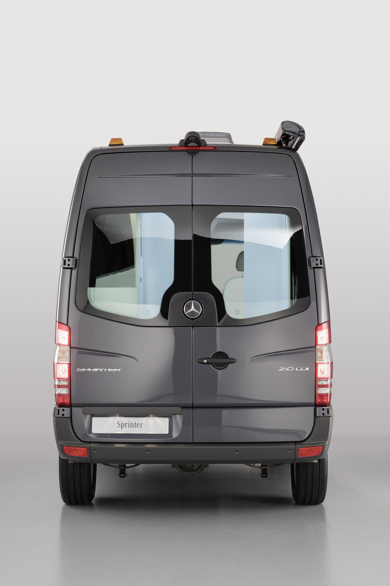 Mercedes Benz Sprinter Caravan Concept Safer Cleaner