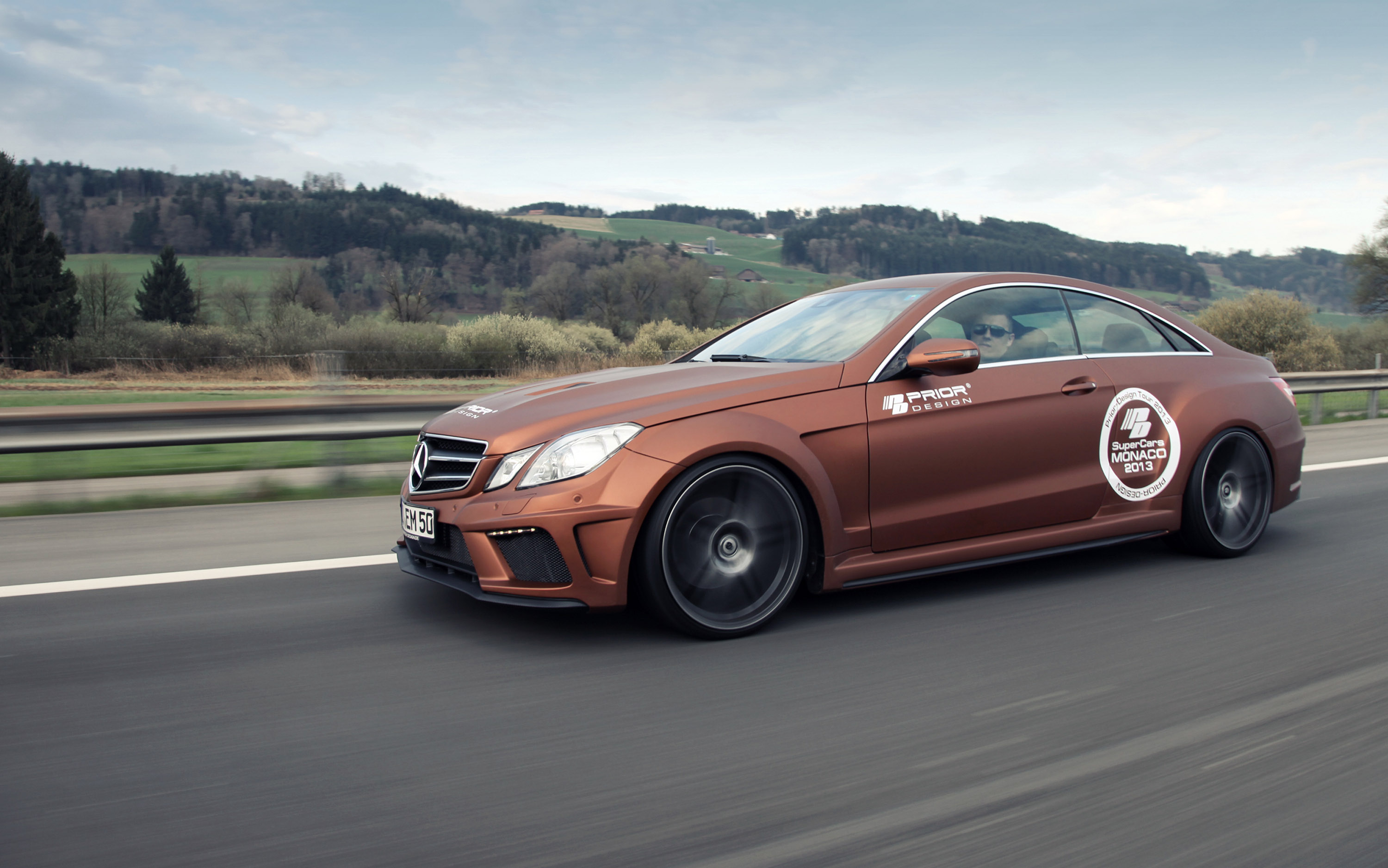 Mercedes E Class Coupe Pd850 Black Edition Widebody