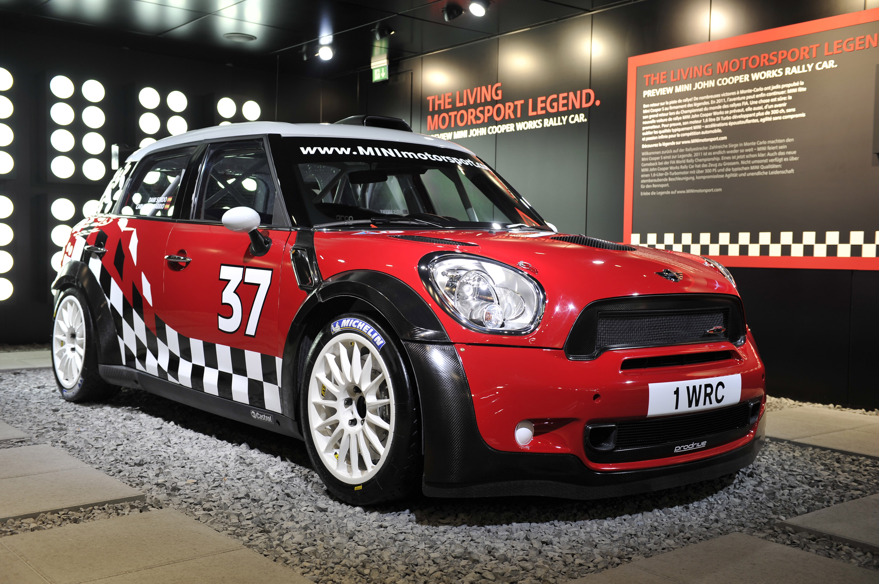 Mini Cooper Works Rally Car Geneva 2011 Picture 50211