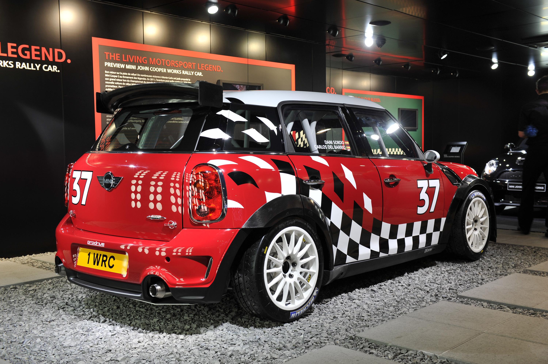 Mini Cooper Works Rally Car Geneva 2011 Picture 50212