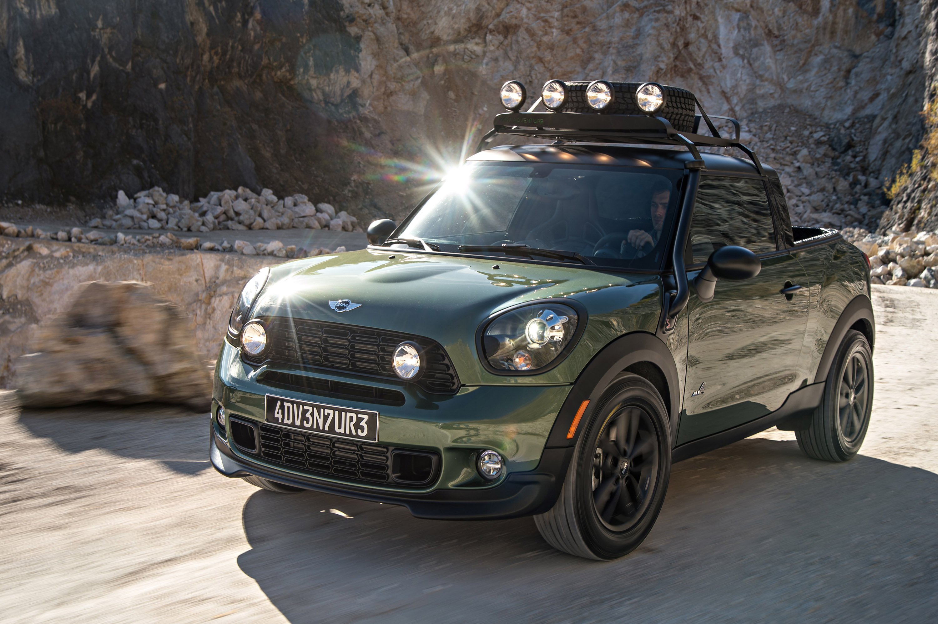 Mini Makes One Off Paceman Adventure