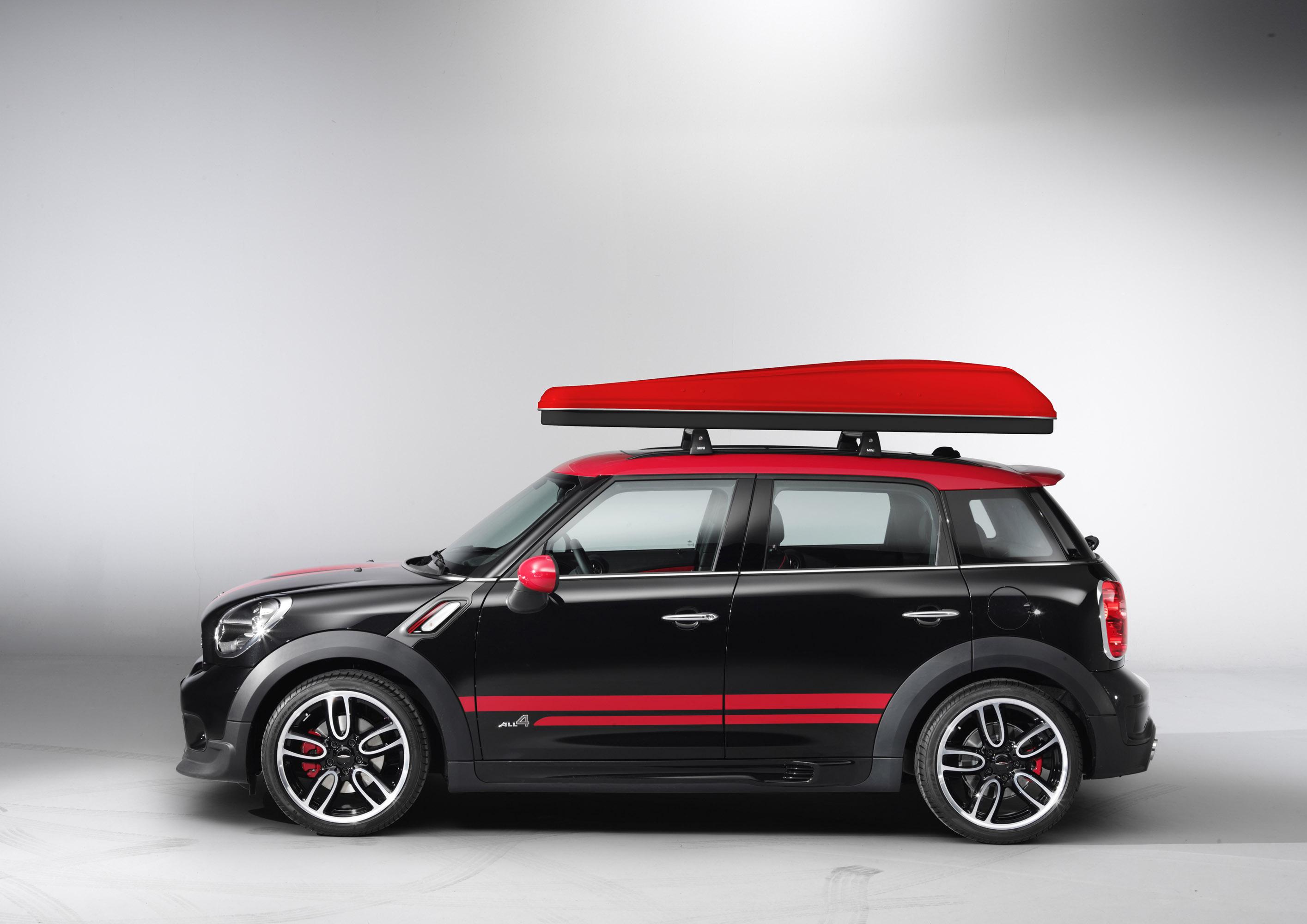 Mini Goes Camping With Mini Cowley Caravan And Mini
