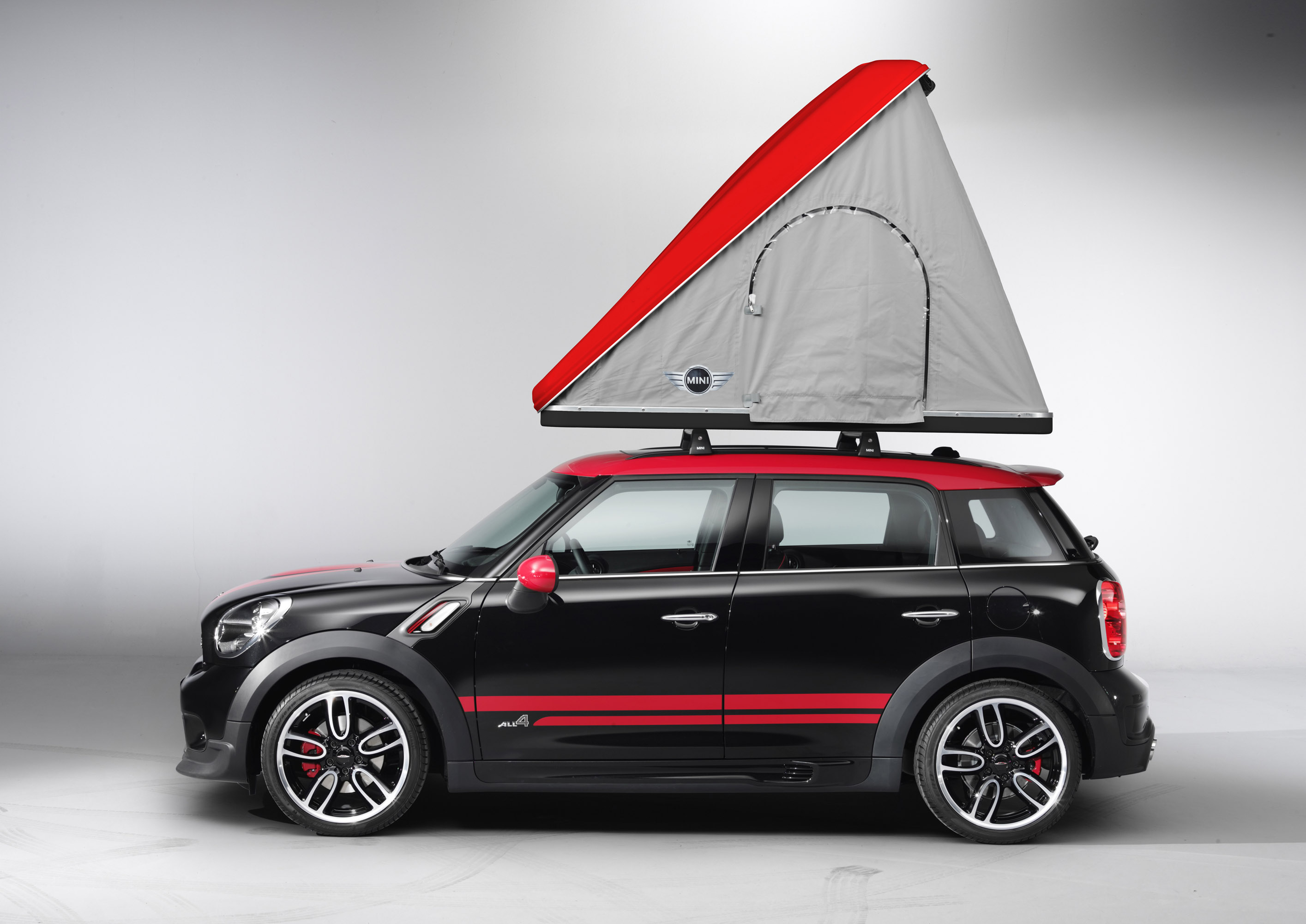 Mini Goes Camping With Mini Cowley Caravan And Mini