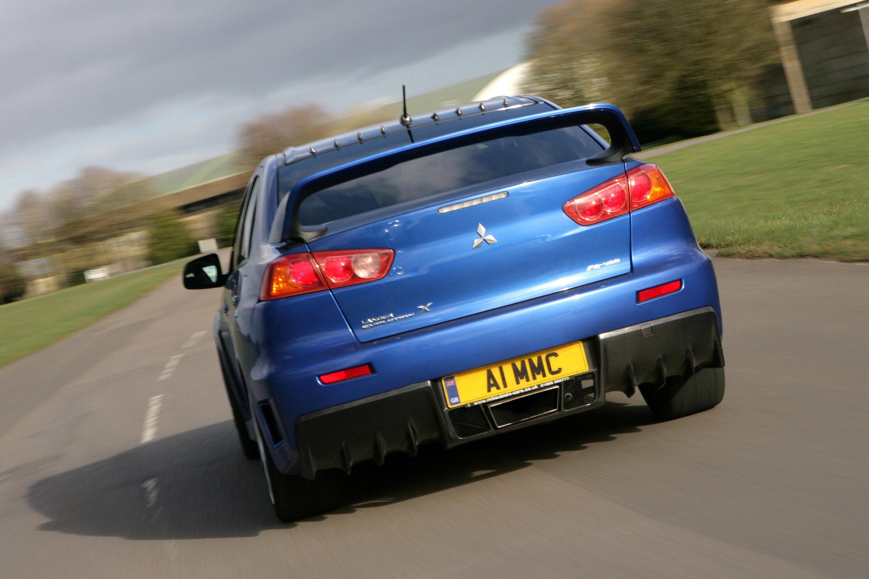 Mitsubishi Lancer Evolution X FQ400 the fastest and most extreme