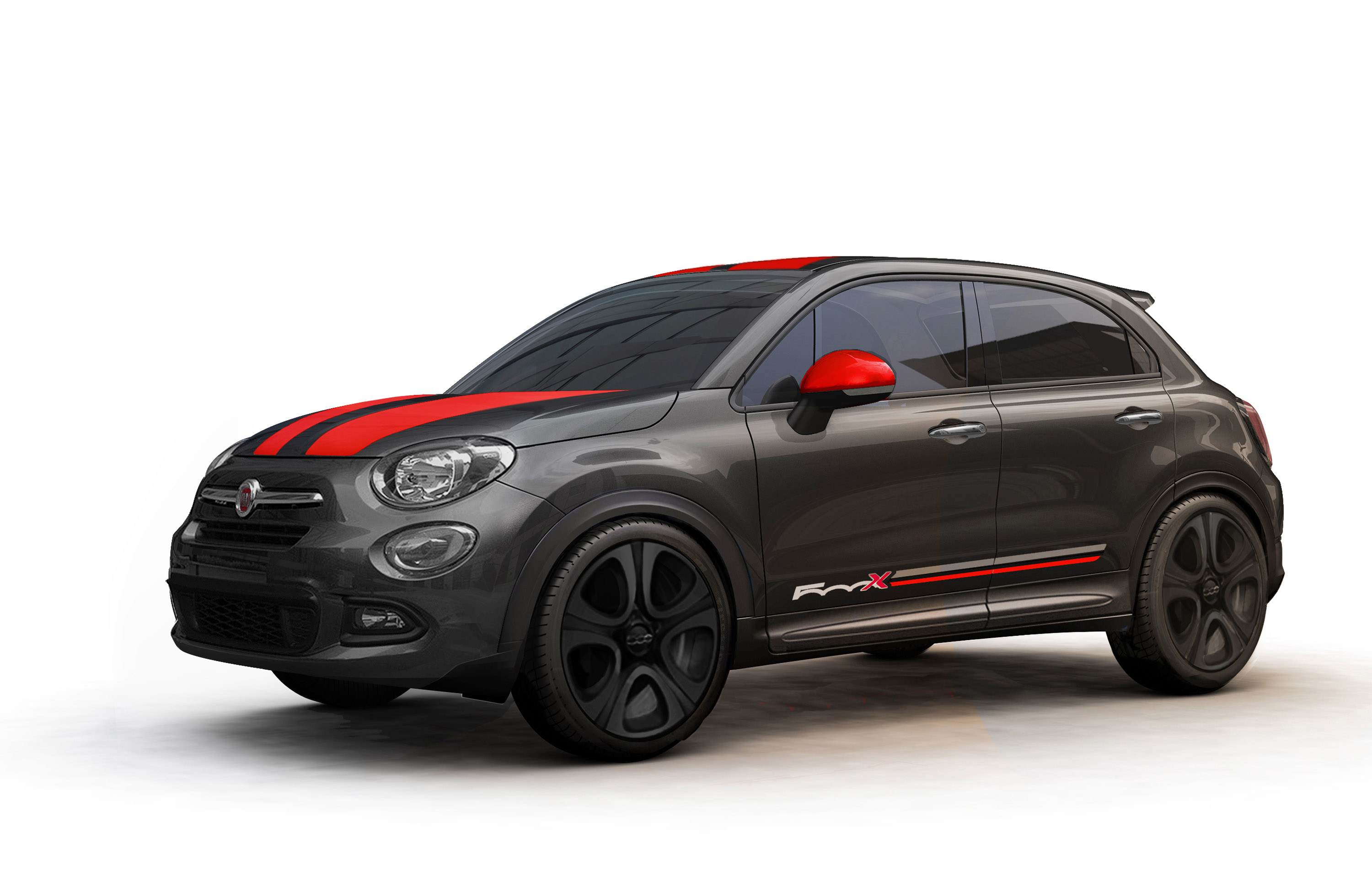 mopar releases accessories for 2016 fiat 500x. Black Bedroom Furniture Sets. Home Design Ideas