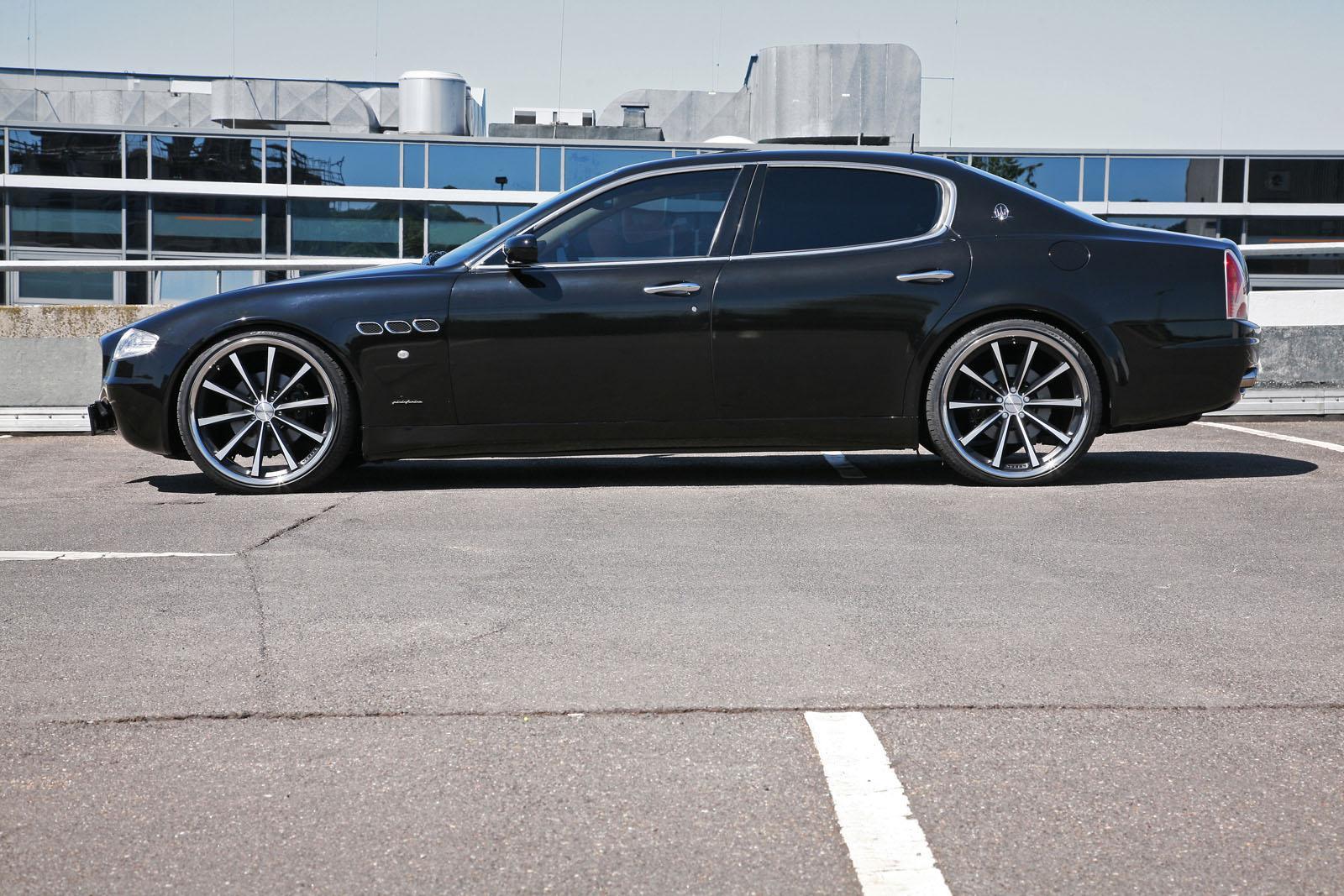 Mr car design maserati quattroporte for Auto interieur tuning