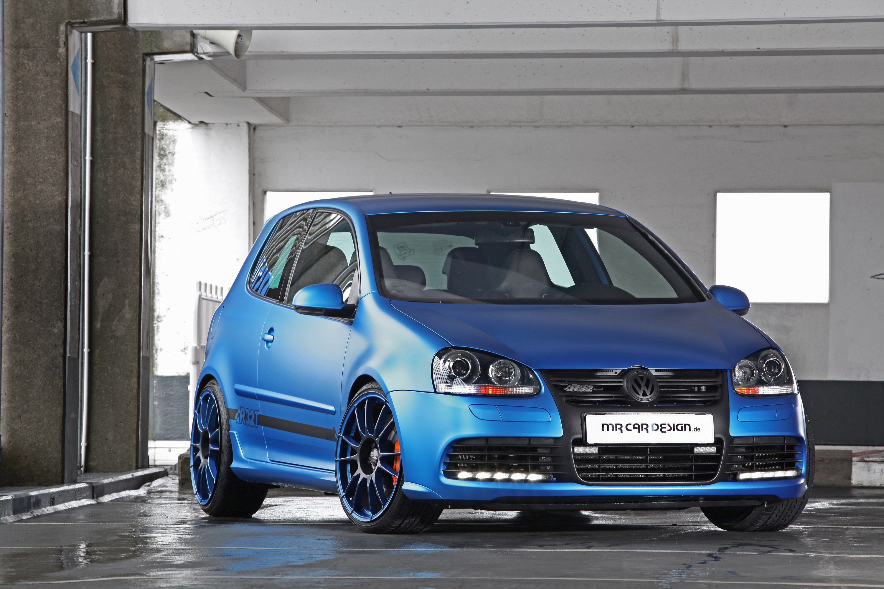 mr car design volkswagen golf vi r32. Black Bedroom Furniture Sets. Home Design Ideas