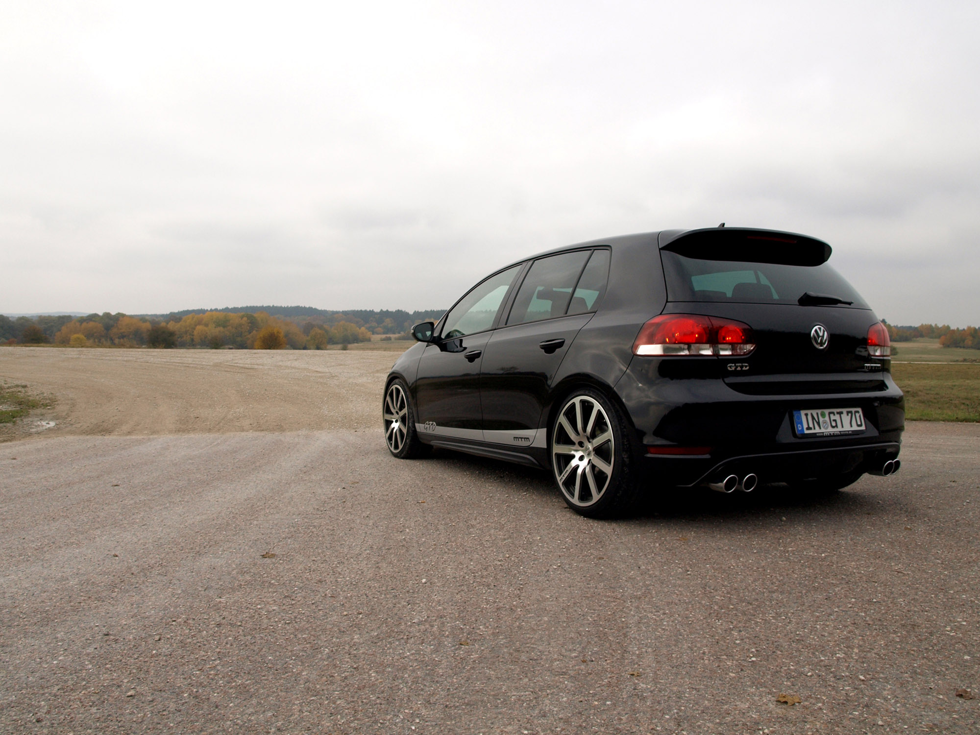 vw golf 6 gtd by mtm. Black Bedroom Furniture Sets. Home Design Ideas