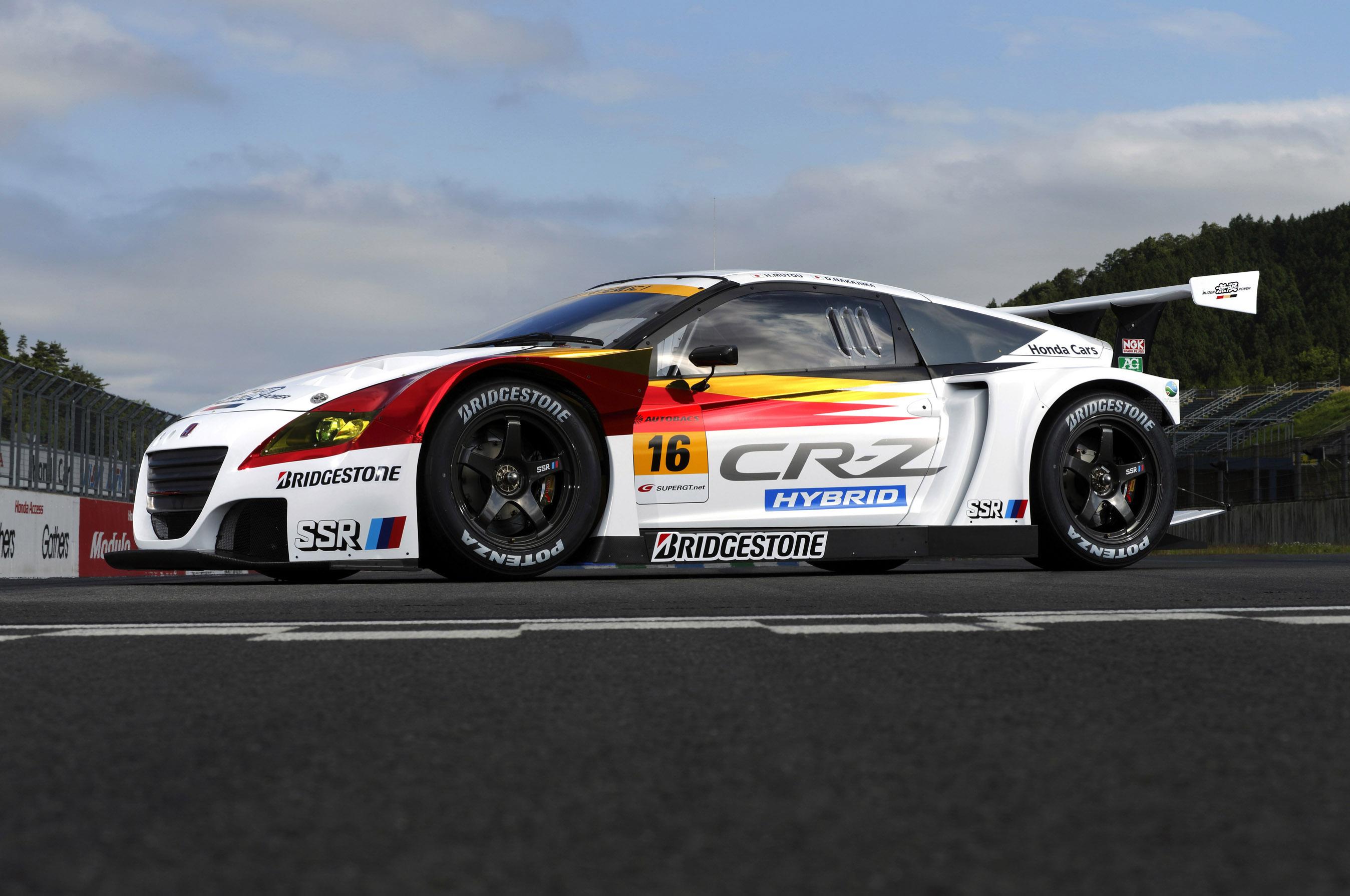 Mugen Honda Cr Z Gt Racing Car