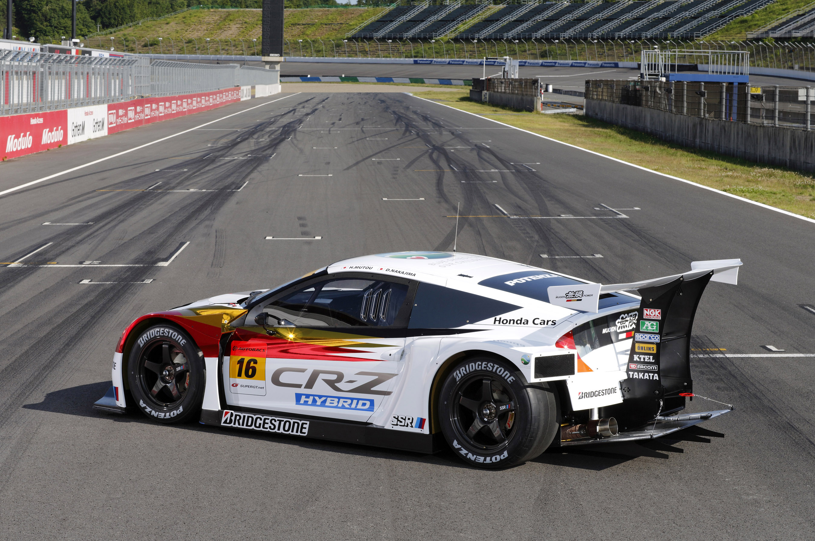 Honda Anderson Sc >> MUGEN Honda CR-Z GT racing car - Picture 70813