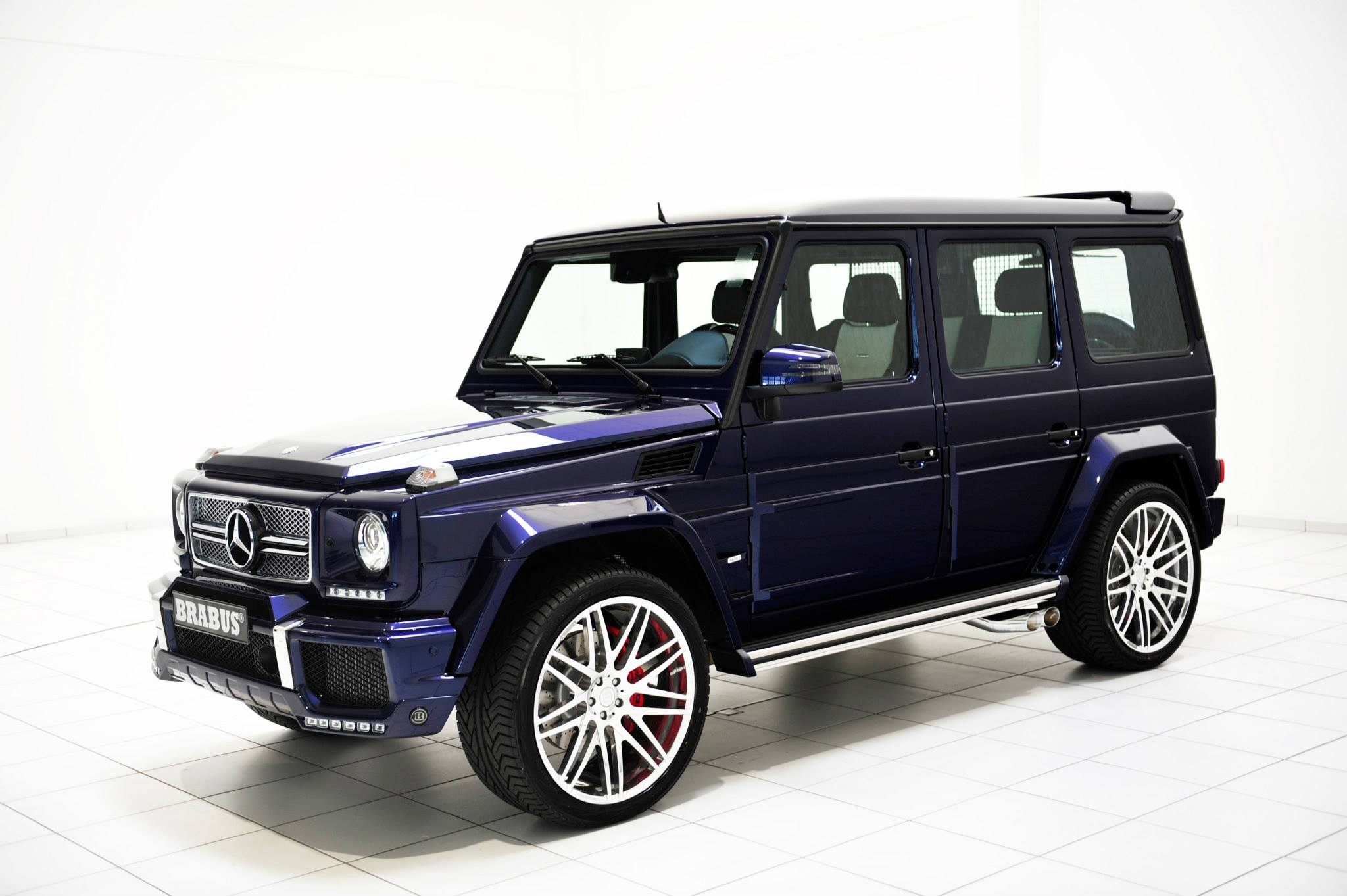 Mystic blue brabus widestar mercedes benz g63 for Mercedes benz usa llc brunswick ga