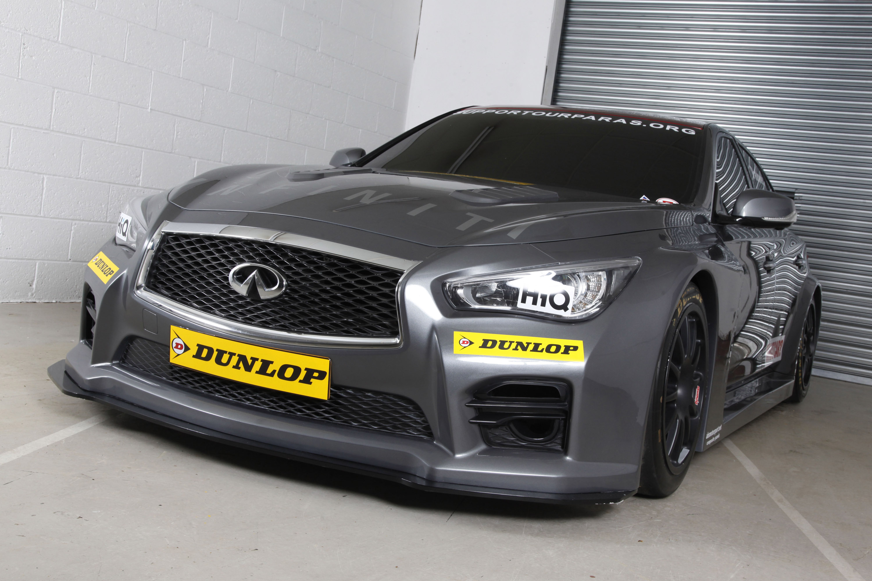 two ngtc infiniti q50 race cars enter the btcc in 2015. Black Bedroom Furniture Sets. Home Design Ideas