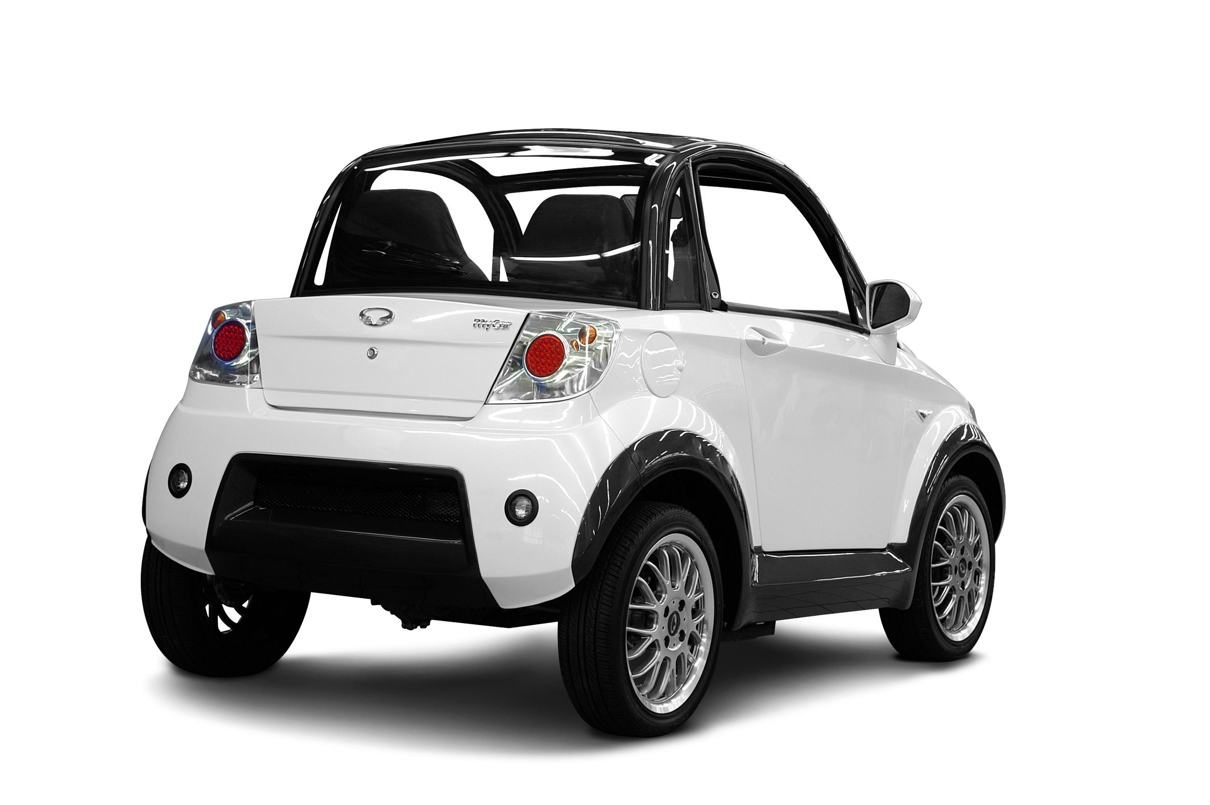 Mycar Is A Stylish All Electric City Car