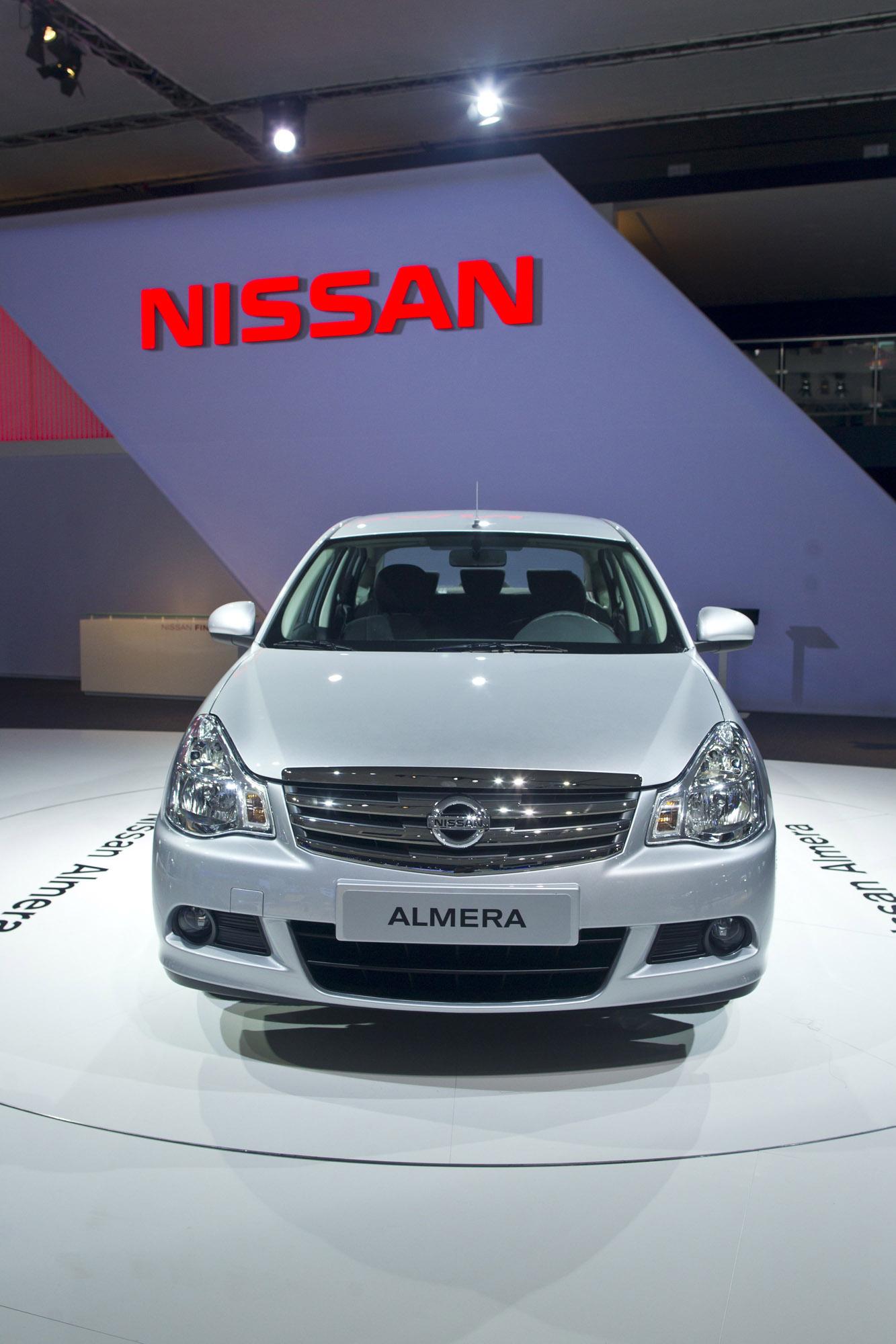2013 Nissan Almera for Russia [video]
