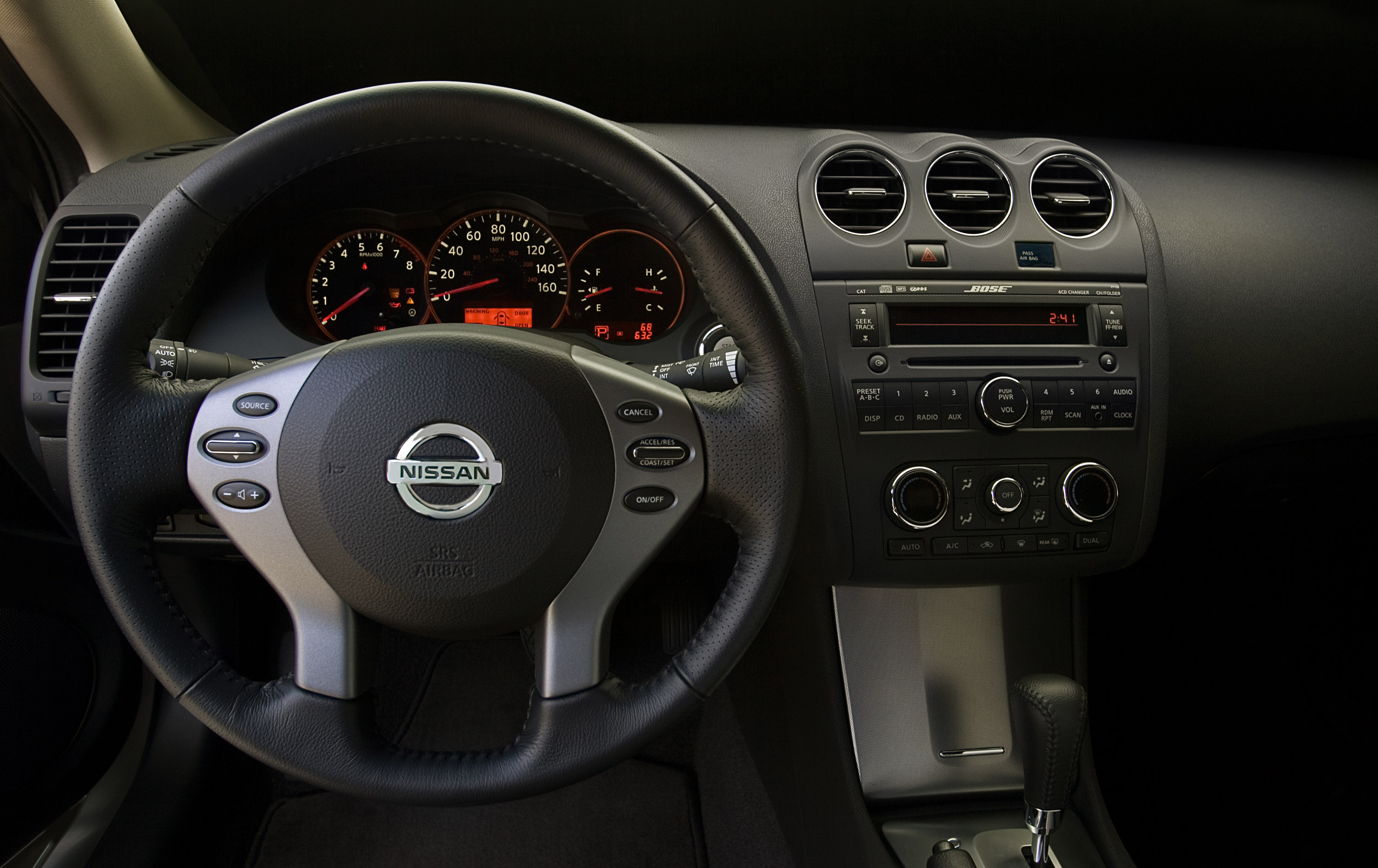 2009 nissan altima coupe demands attention with aggressive styling nissan altima coupe 2008 vanachro Image collections