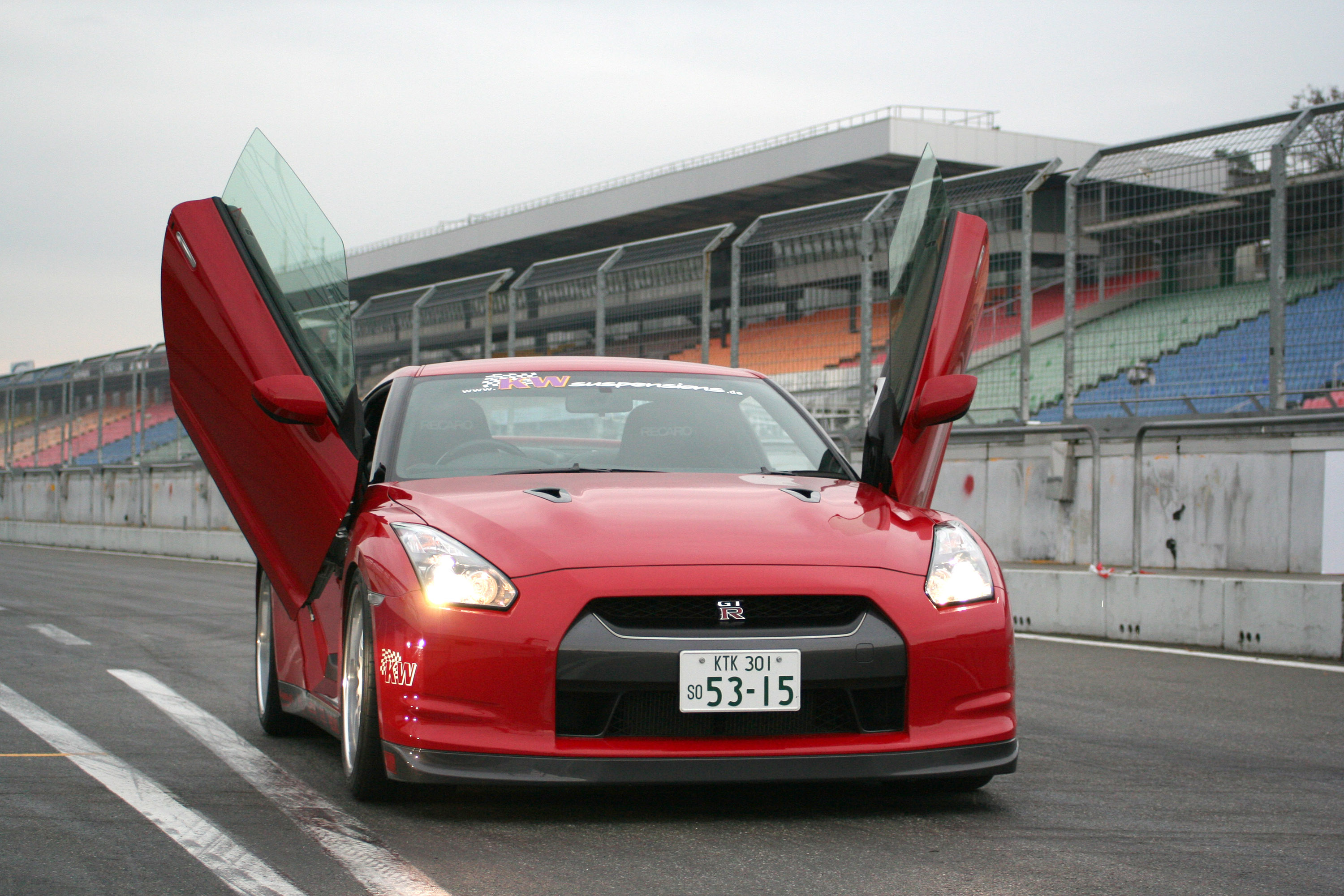 ... Nissan GT-R with LSD wing doors 4 of 4 & LSD wing doors for Nissan GT-R