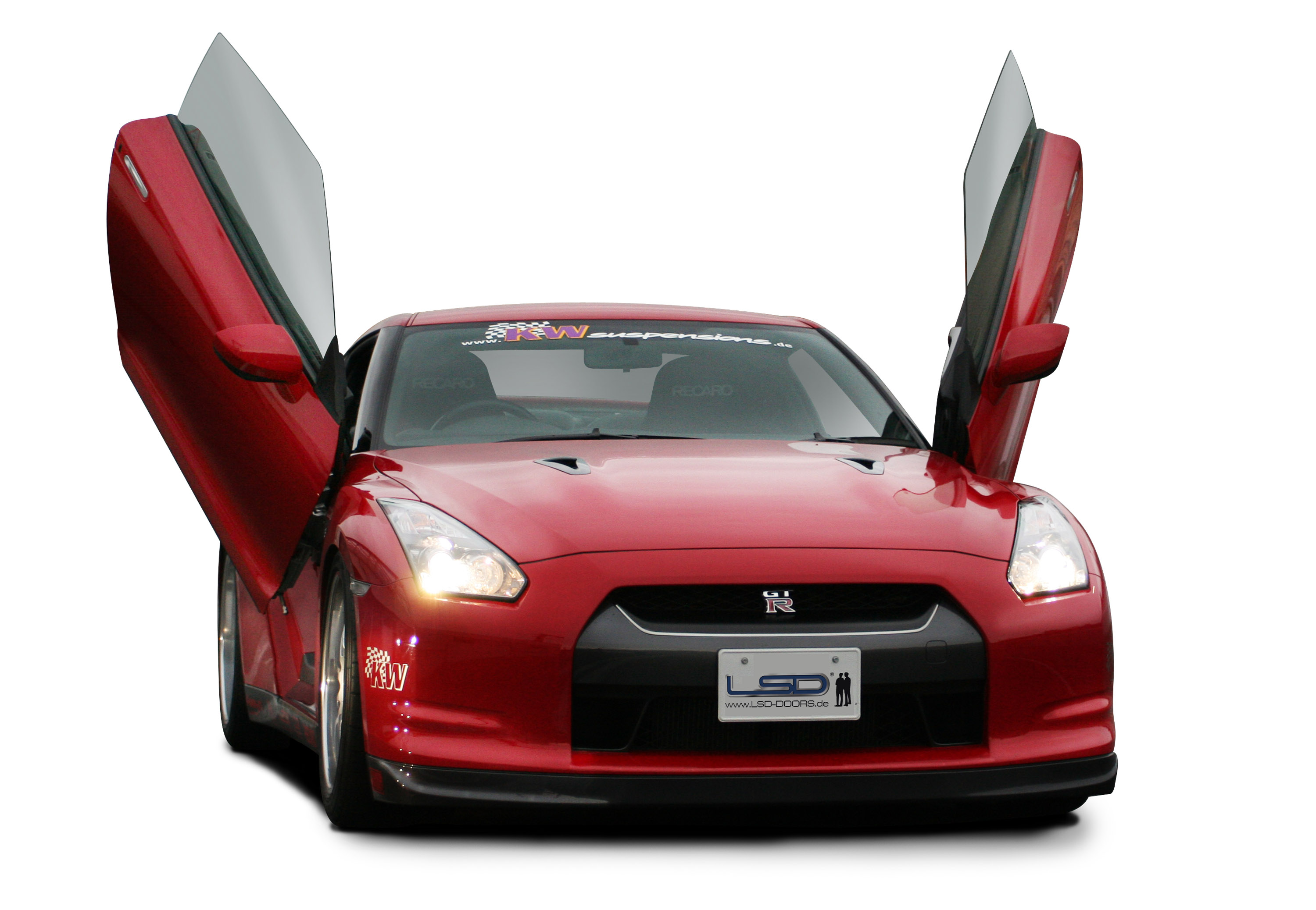 ... Nissan GT-R with LSD wing doors ...  sc 1 st  AutomobilesReview.com & LSD wing doors for Nissan GT-R