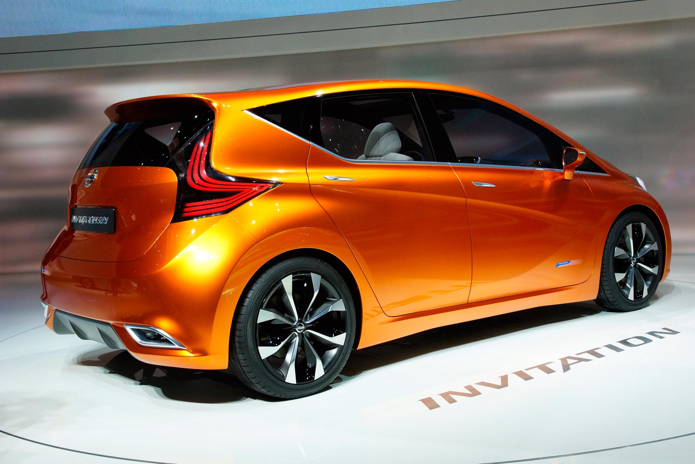 Range Rover Evoque Review >> 2012 Geneva Motor Show: Nissan Invitation Concept