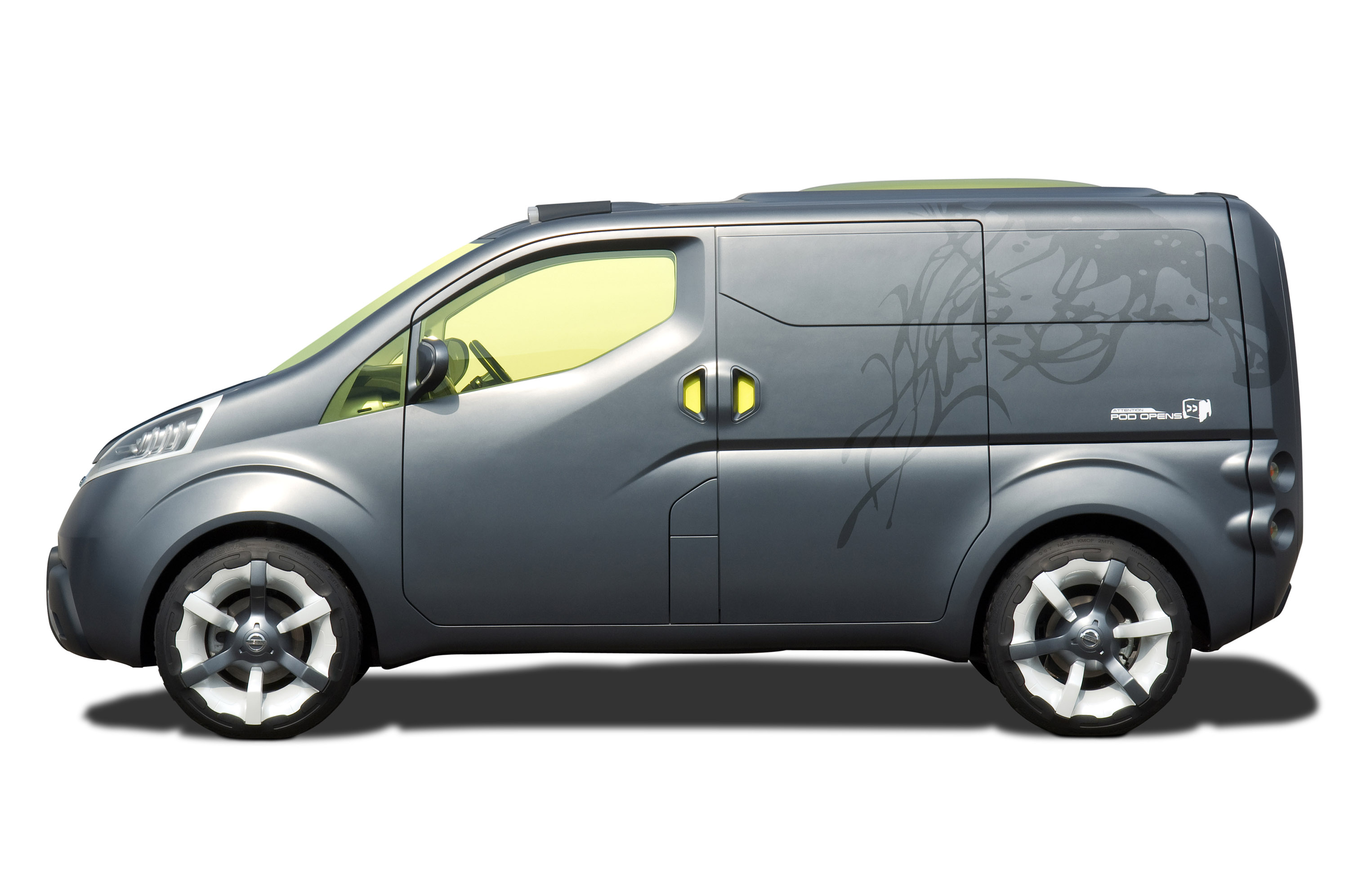 "Nissan Passenger Van >> Nissan NV200 Concept Brings ""Human Touch"" And Personalization To The Small Commercial Van Segment"