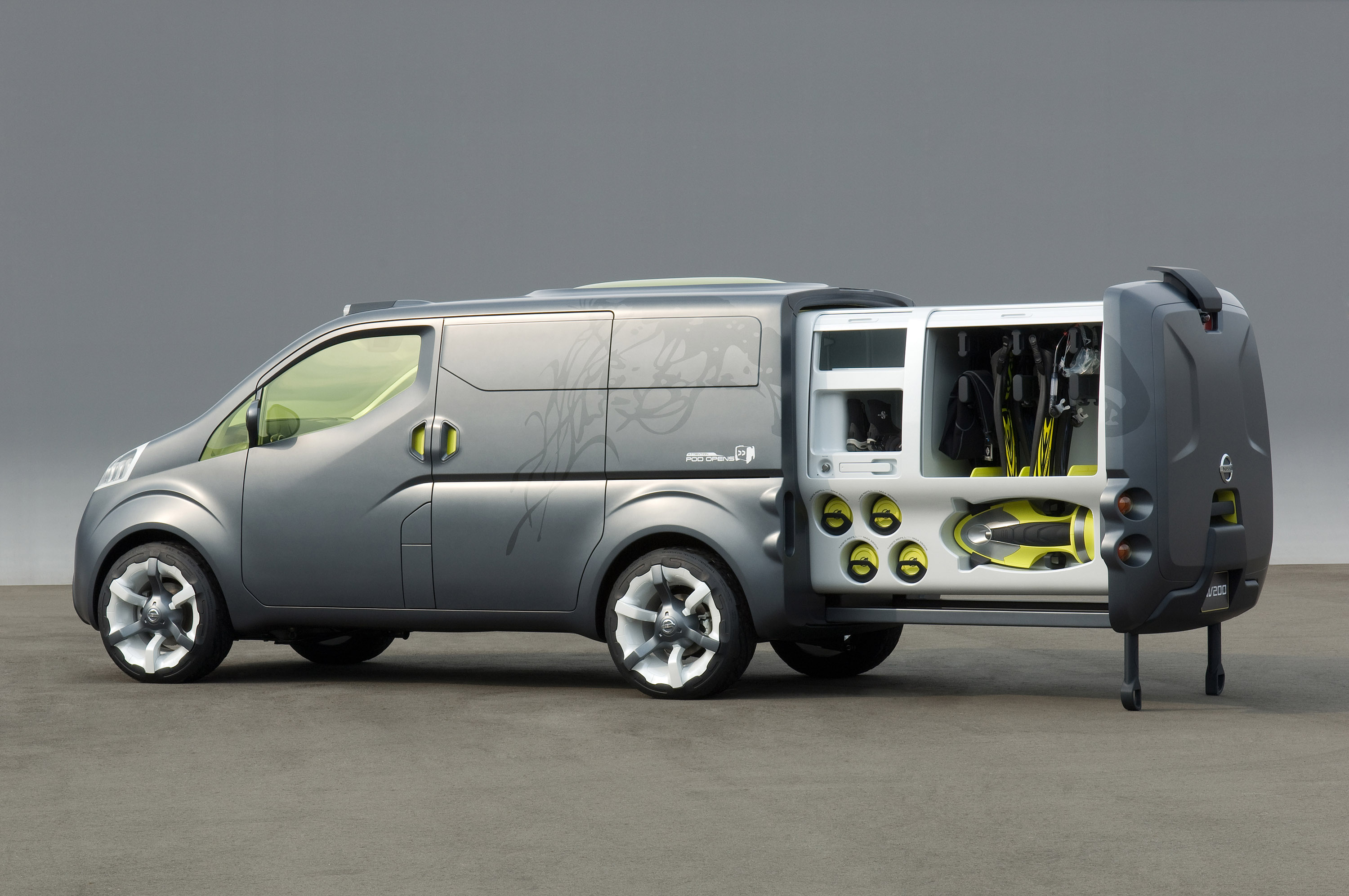 Nissan Nv200 Concept Picture 11333
