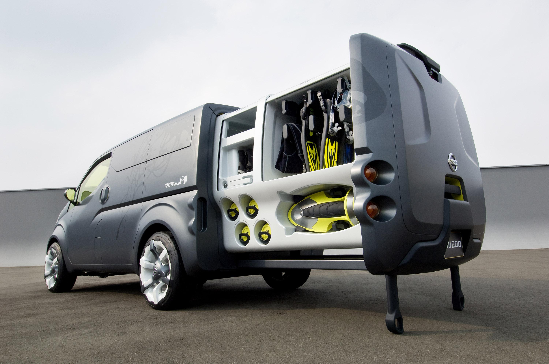 "Nissan Nv Passenger Van >> Nissan NV200 Concept Brings ""Human Touch"" And ..."