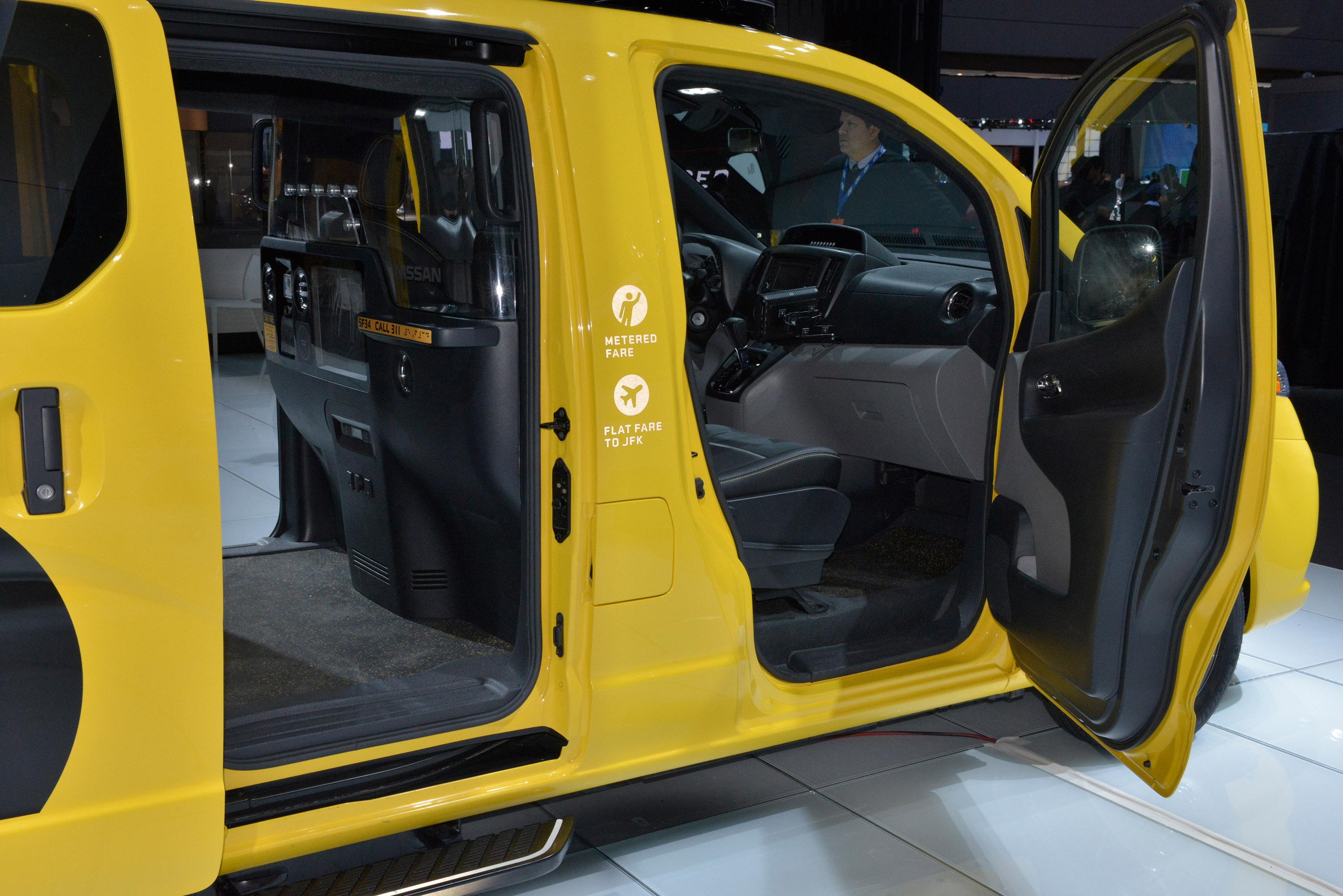 Nissan nv200 taxi new york