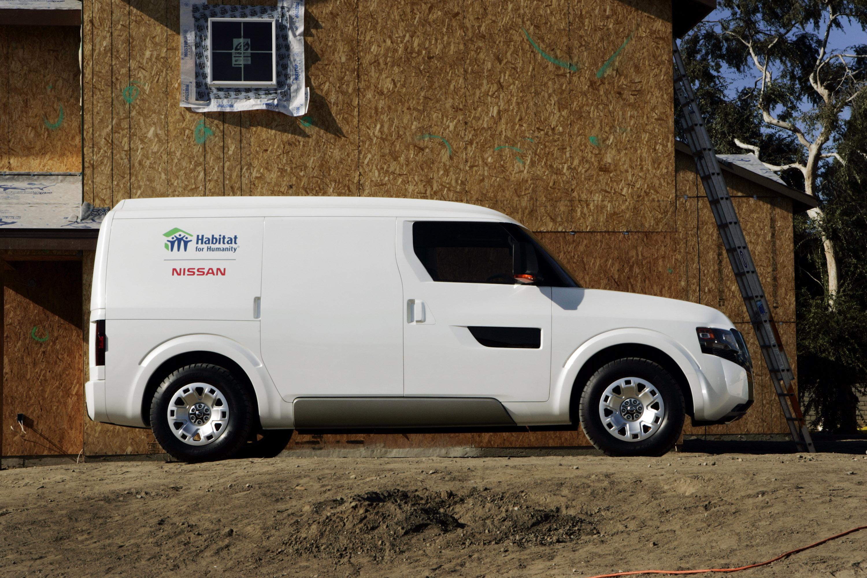 Nissan nv2500 concept makes world debut previews nissans entry nissan nv2500 concept vanachro Images