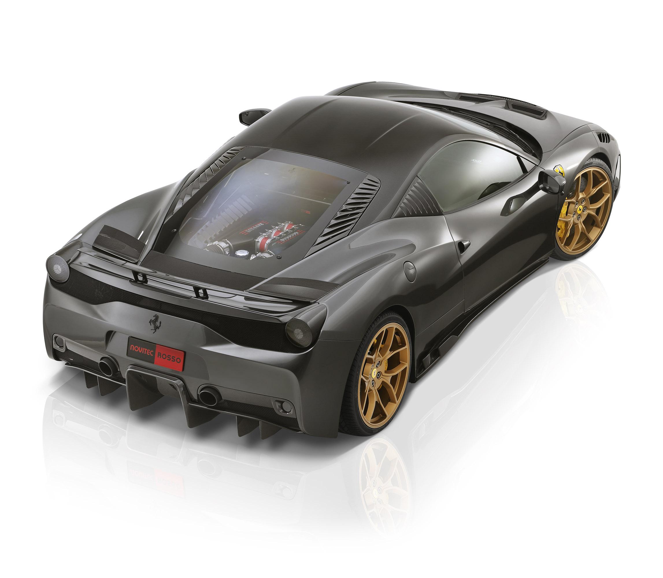 2014 Ferrari 458 Speciale Transmission: Prior Design Audi R8 PD GT850