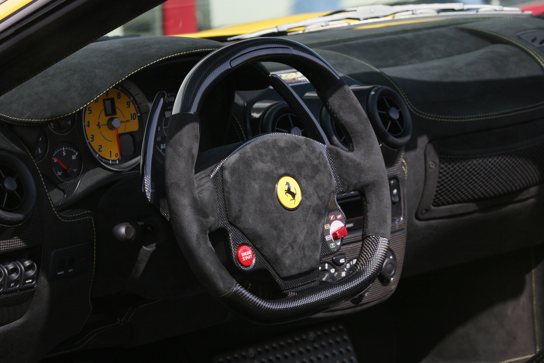 Novitec Rosso Ferrari Scuderia Spider M on Engine Intake Manifold