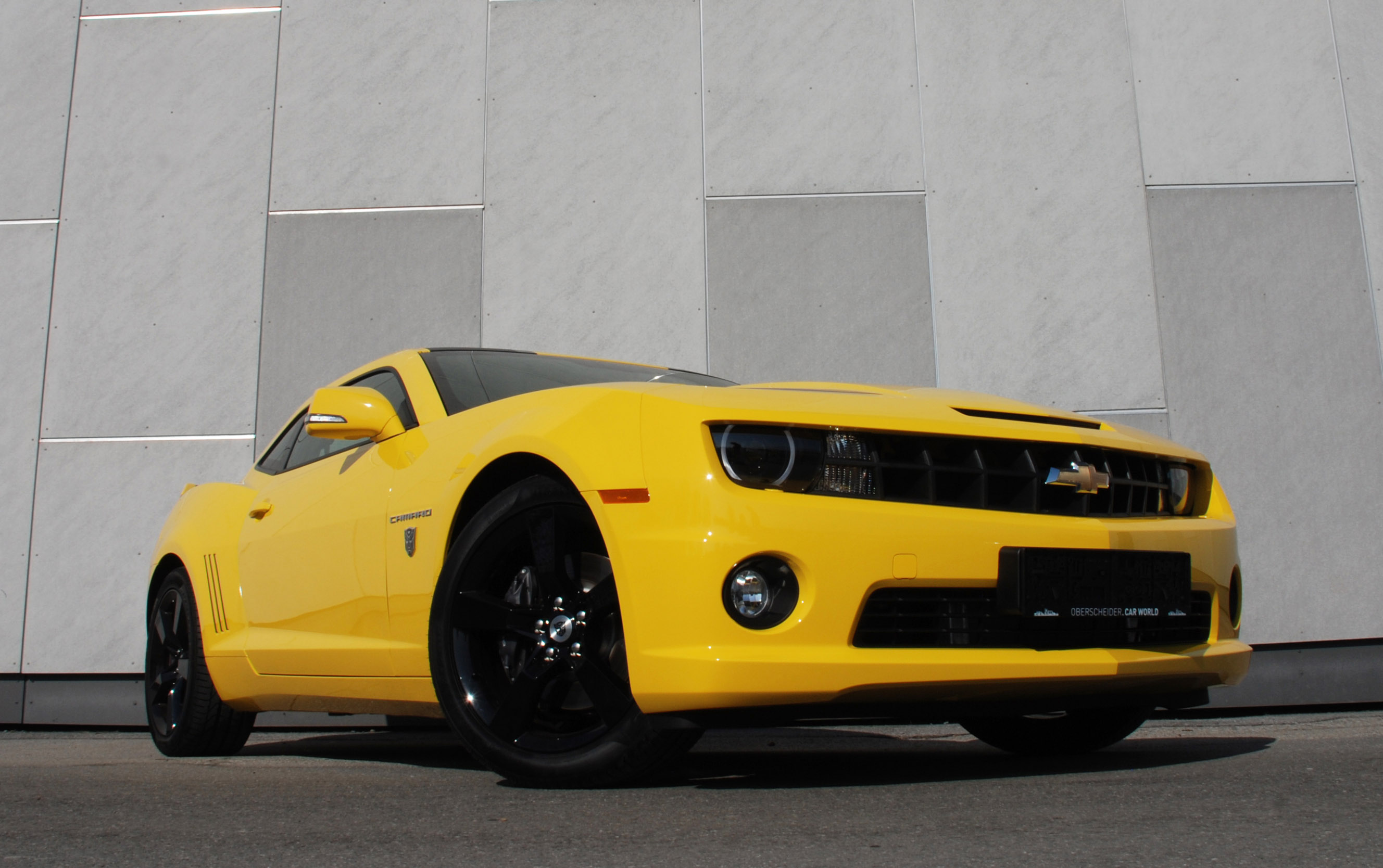 Chevrolet Camaro A K A Yellow Steam Hammer By O Ct Tuning