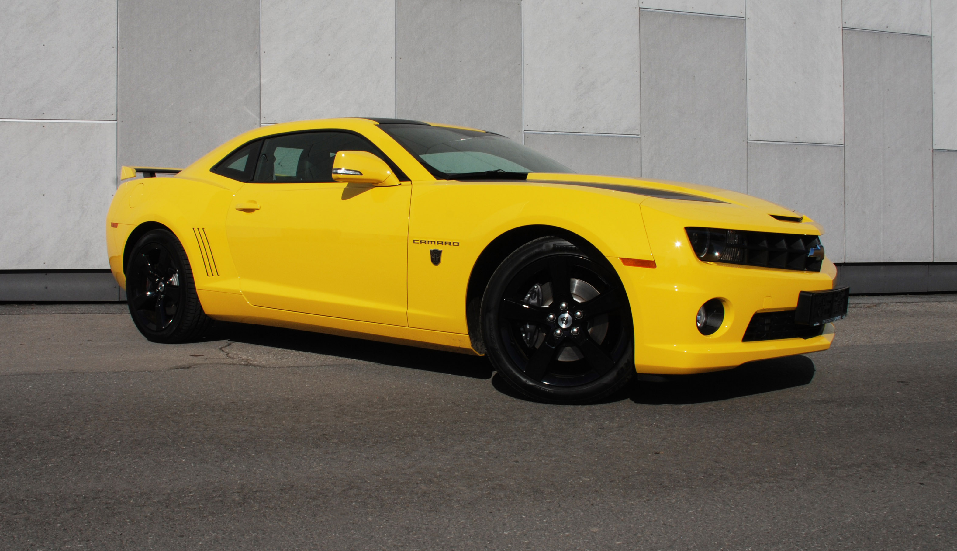 Chevrolet Camaro a.k.a Yellow Steam Hammer by O.CT-Tuning