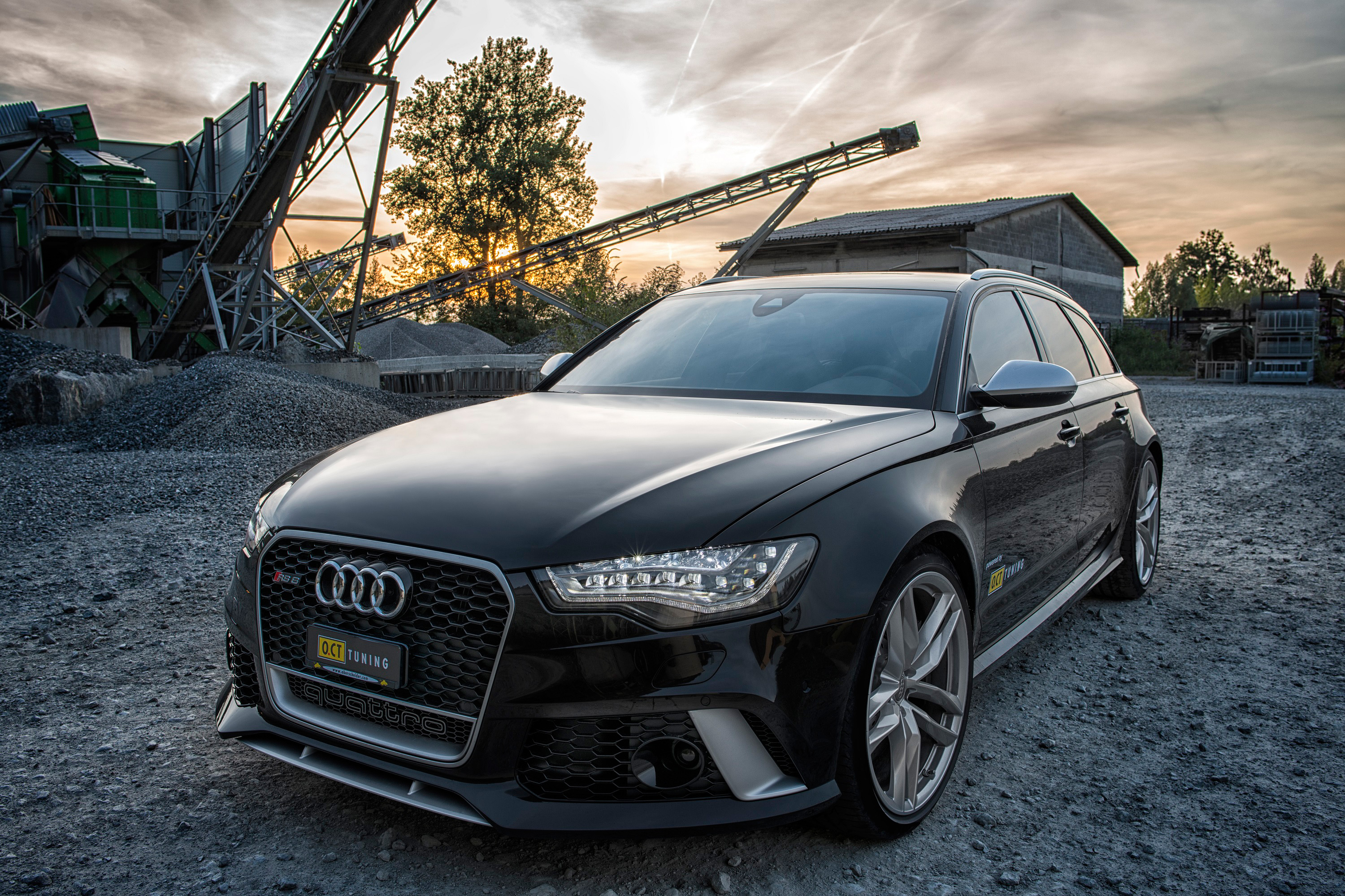 Oct Tuning Audi Rs6 670hp And 880nm
