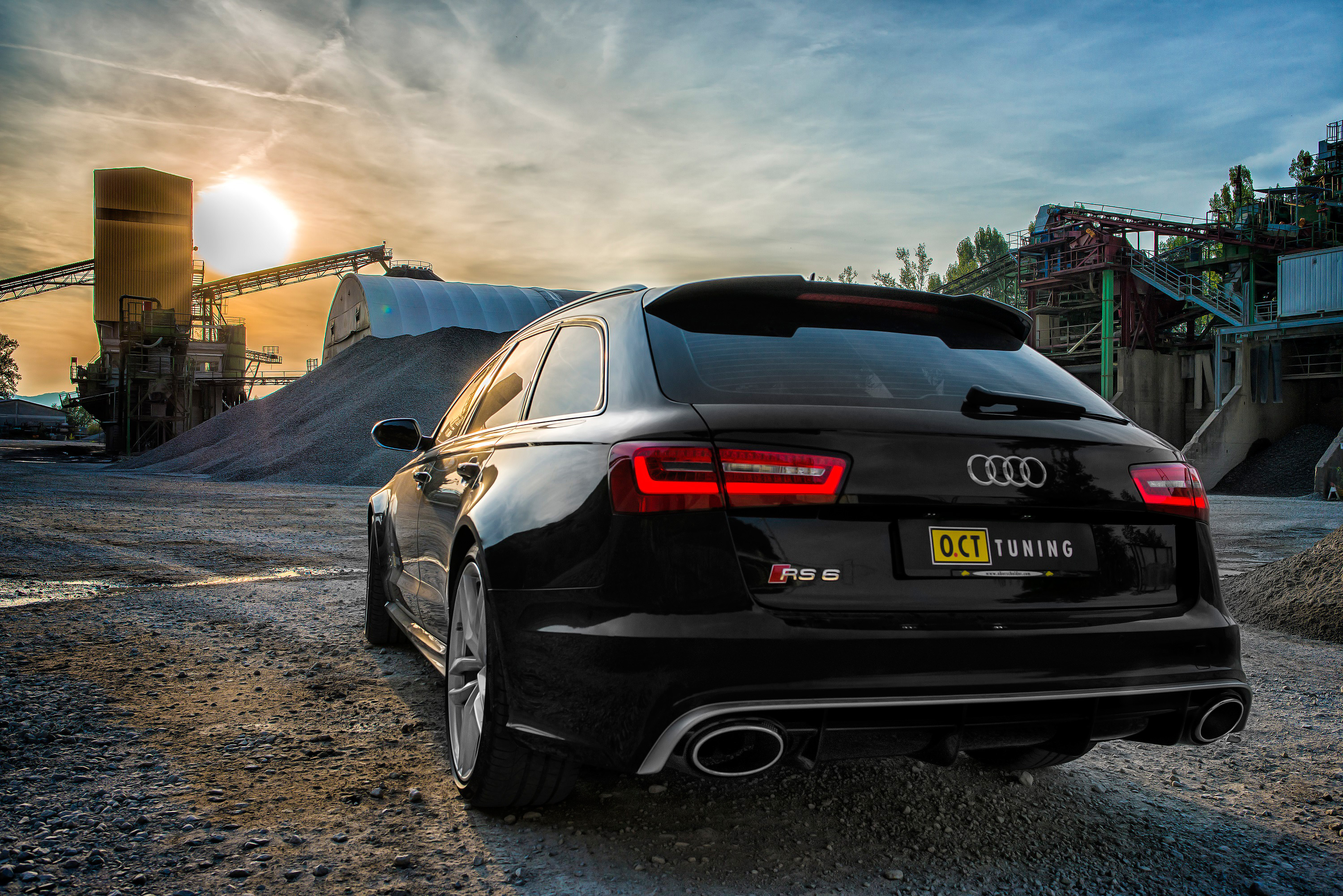 oct tuning audi rs6 670hp and 880nm. Black Bedroom Furniture Sets. Home Design Ideas
