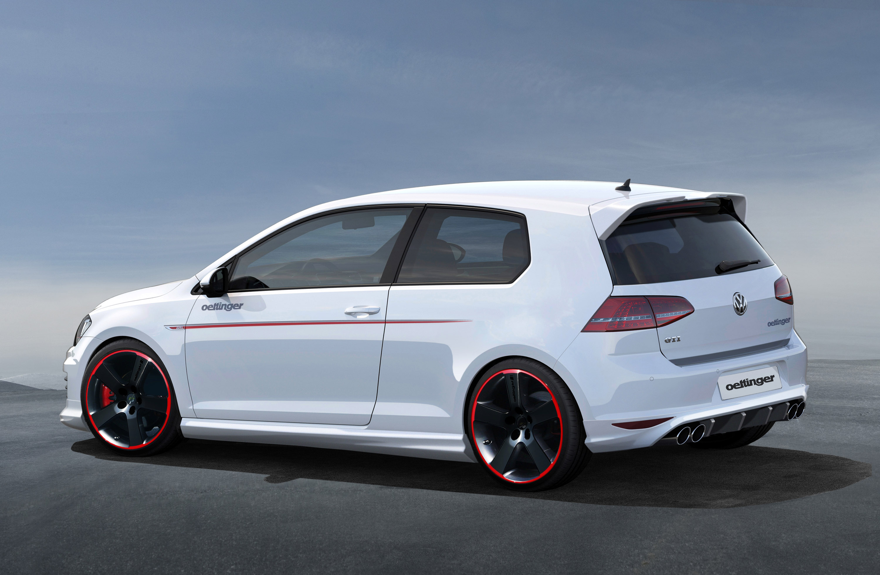 Oettinger Volkswagen Golf Vii Gti Traditionally Quick