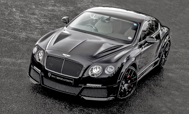 Onyx Reveals Bentley Continental Gtvx Concept