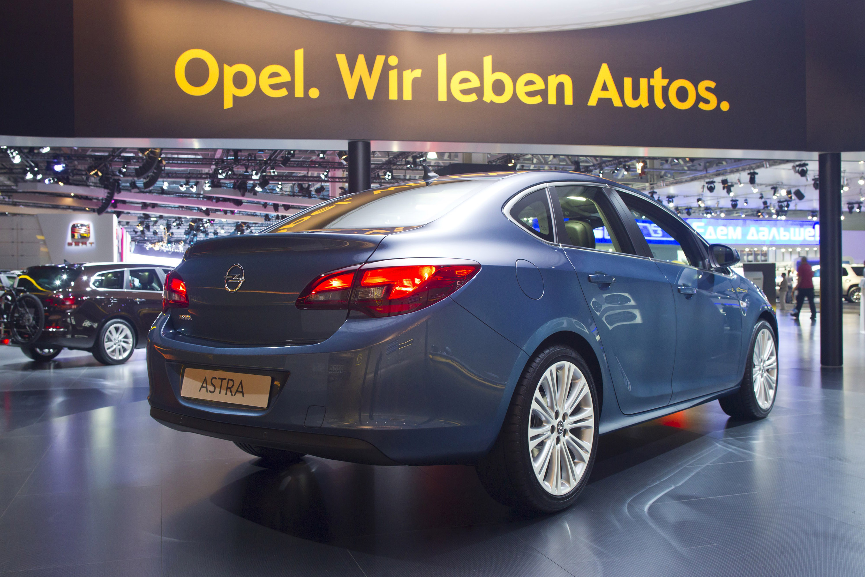 Opel Astra Sedan Moscow 2012 Picture 73862