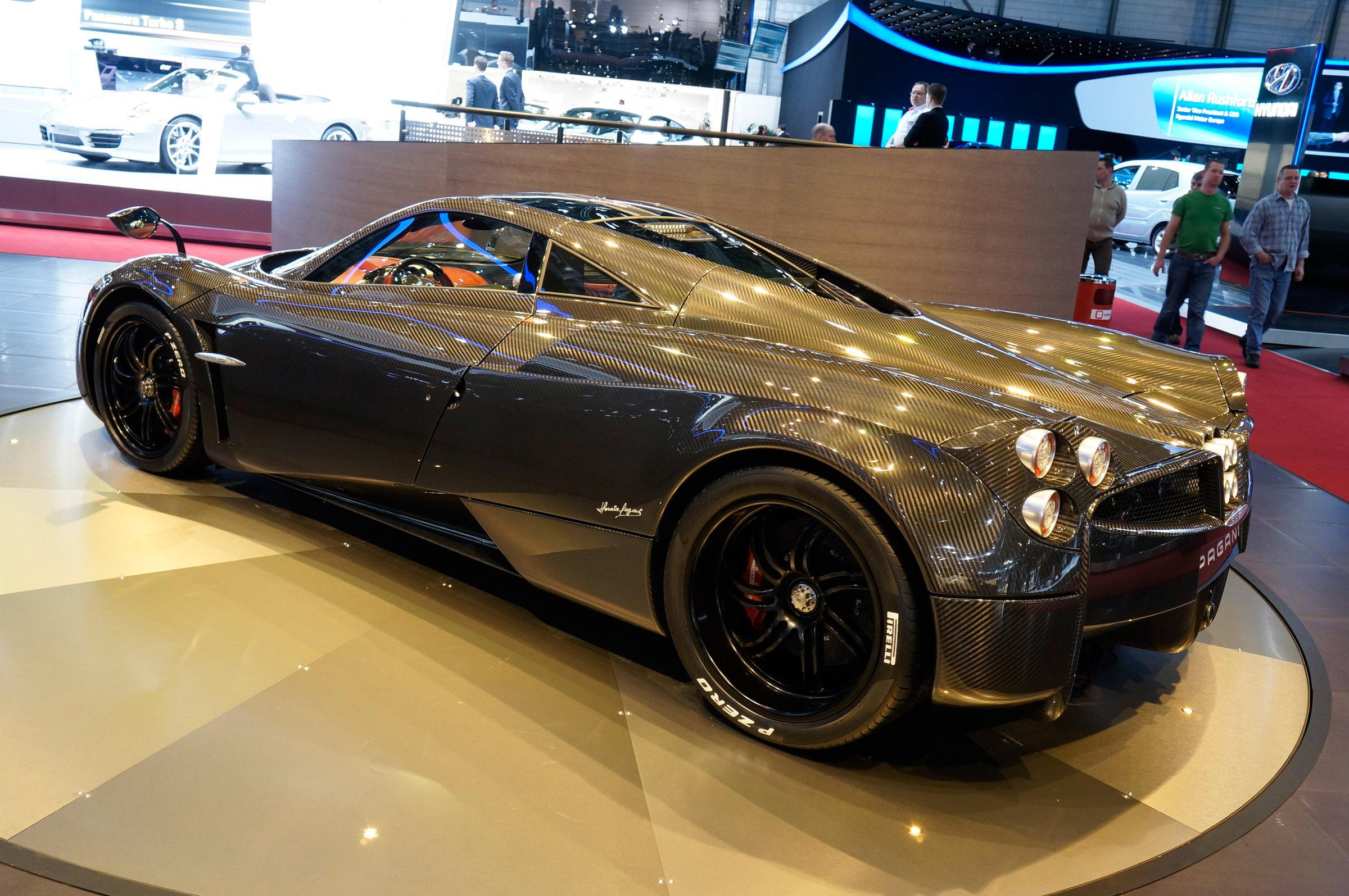 Bac Mono Price >> 2012 Geneva Motor Show: Pagani Huayra Carbon Edition