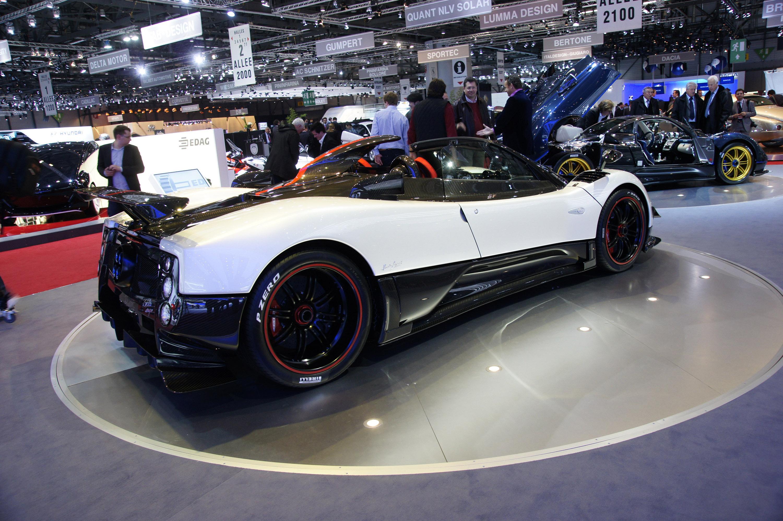 Pagani Zonda Cinque Roadster Geneva 2010 Picture 35294